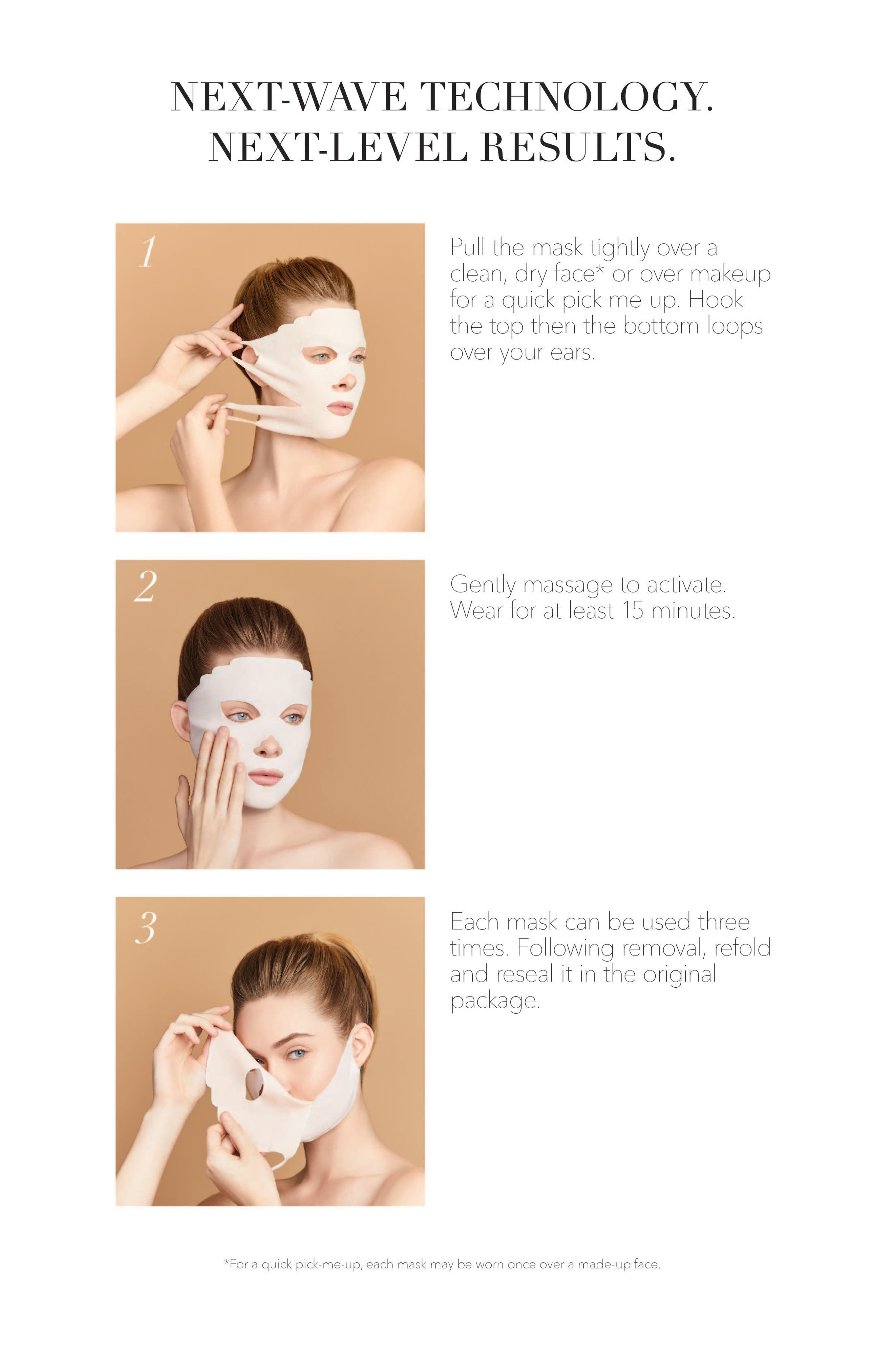 Instant Solutions<sup>®</sup> Dry Sheet Mask,                             Alternate thumbnail 3, color,                             No Color