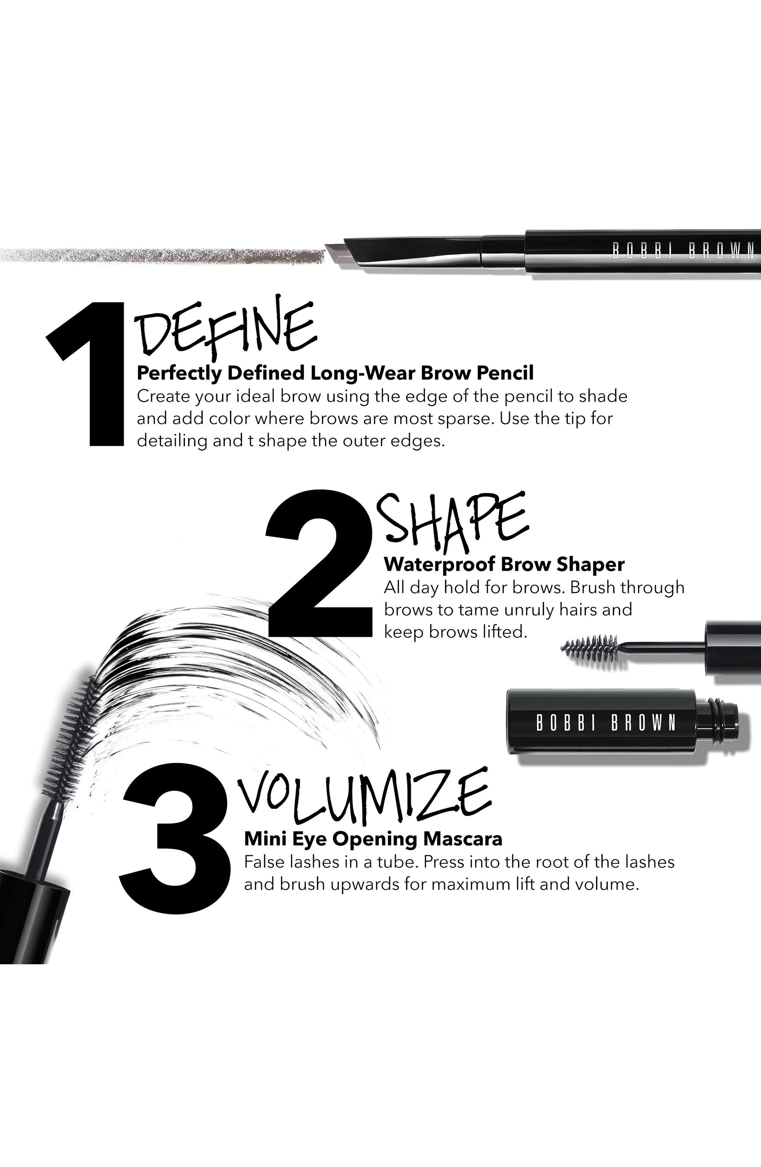 90 Second Perfectly Defined Brows Kit,                             Alternate thumbnail 3, color,