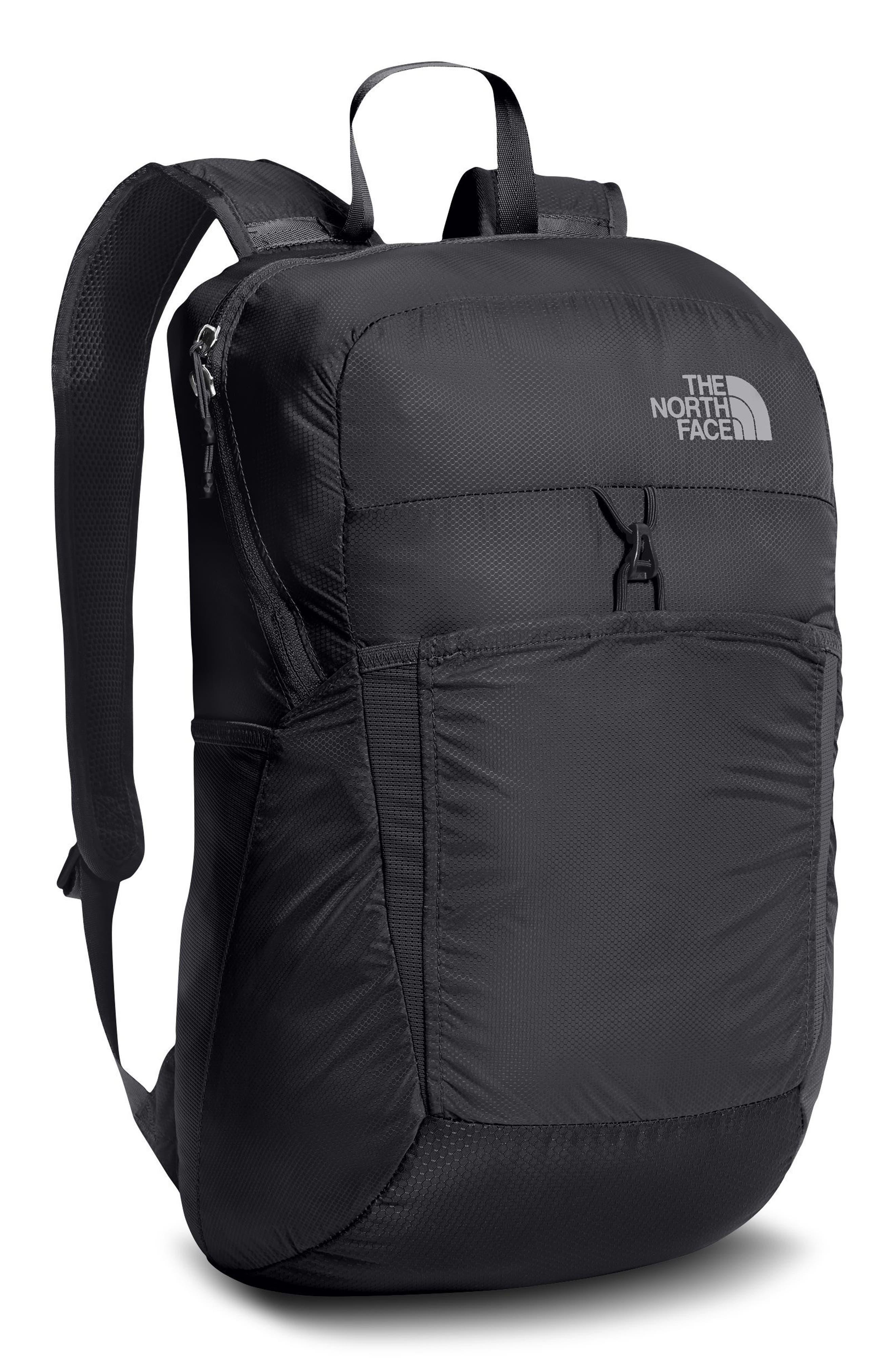 Flyweight Packable Backpack,                         Main,                         color, Asphalt Grey