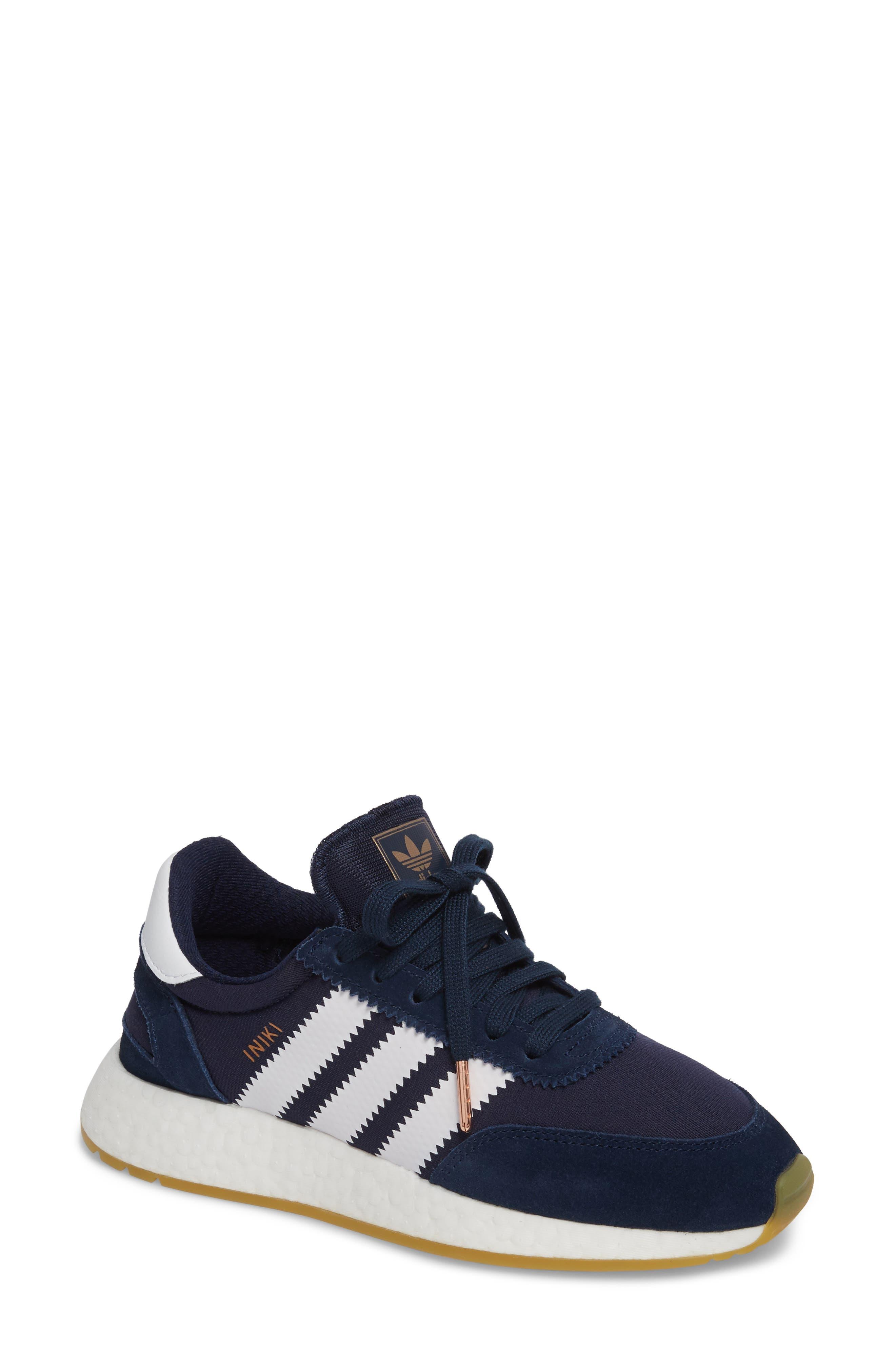 I-5923 Sneaker,                             Main thumbnail 1, color,                             Navy/ White/ Gum