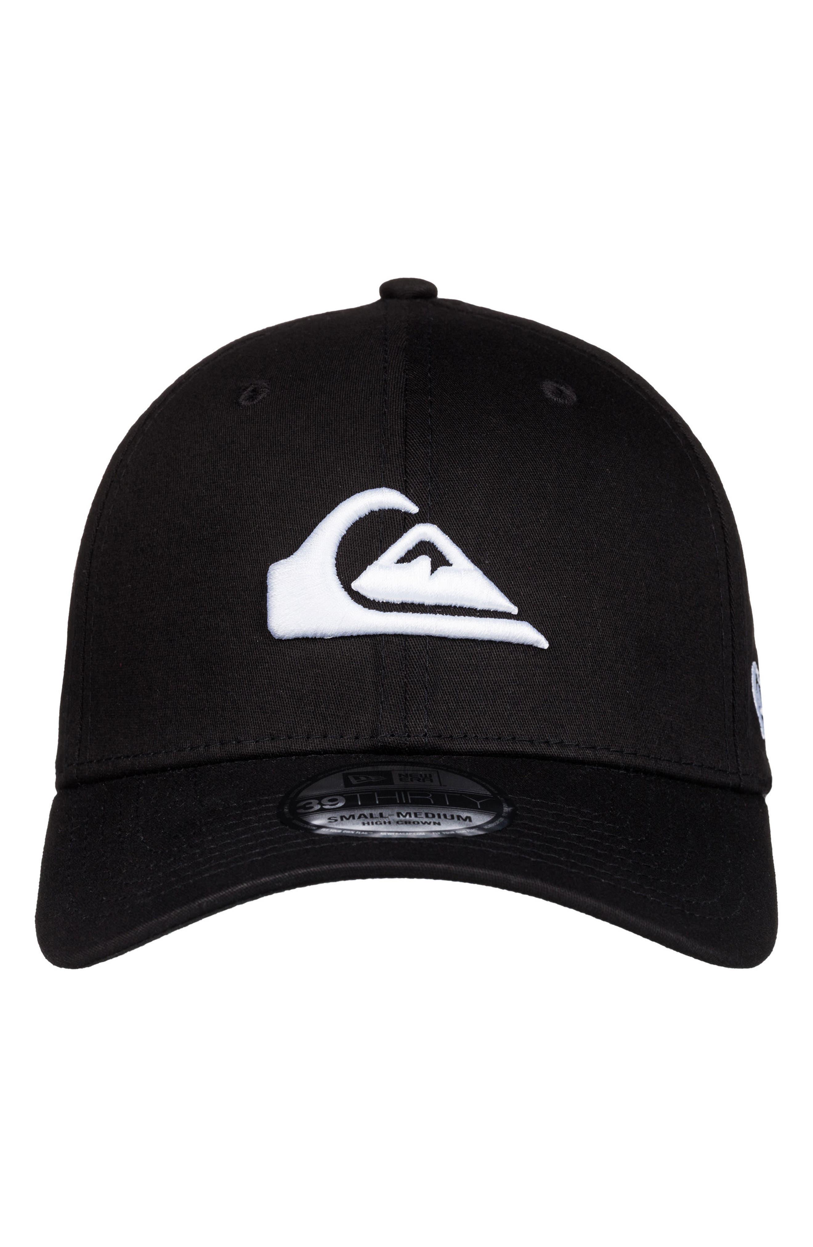 Mountain & Wave Baseball Cap,                             Alternate thumbnail 4, color,                             White