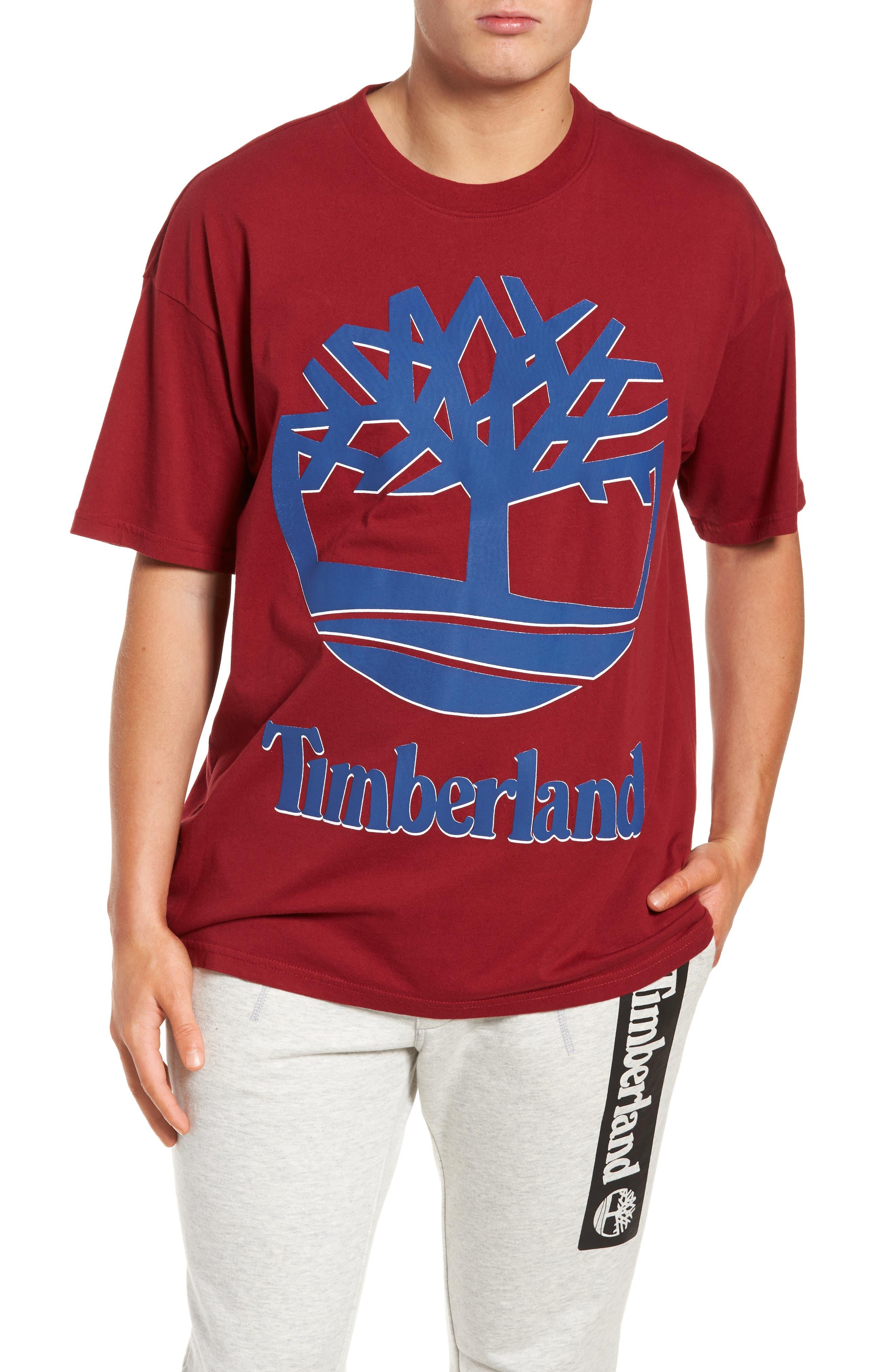 Alternate Image 1 Selected - Timberland Logo T-Shirt