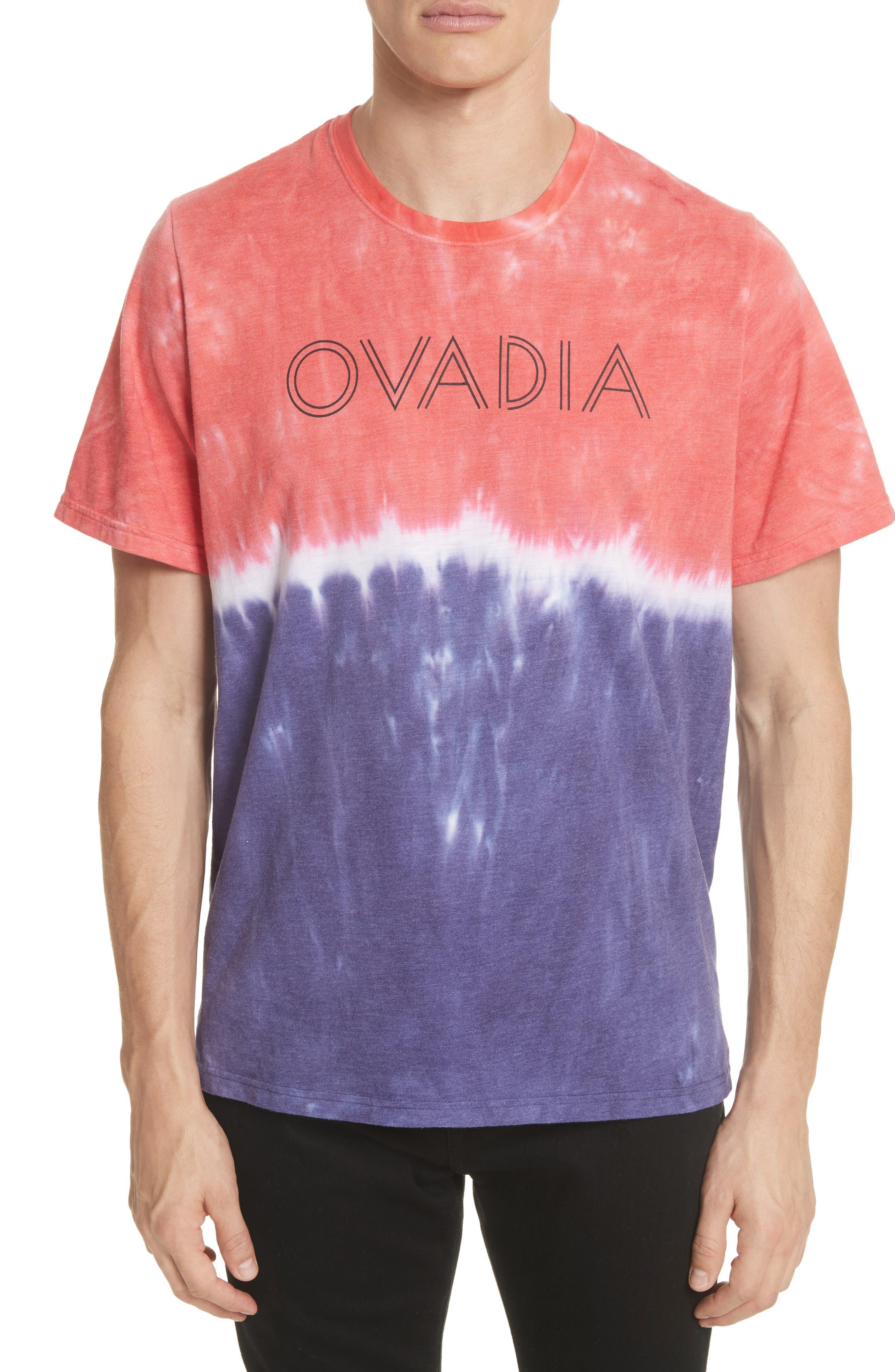 OVADIA & SONS Ombré Tie Dye T-Shirt