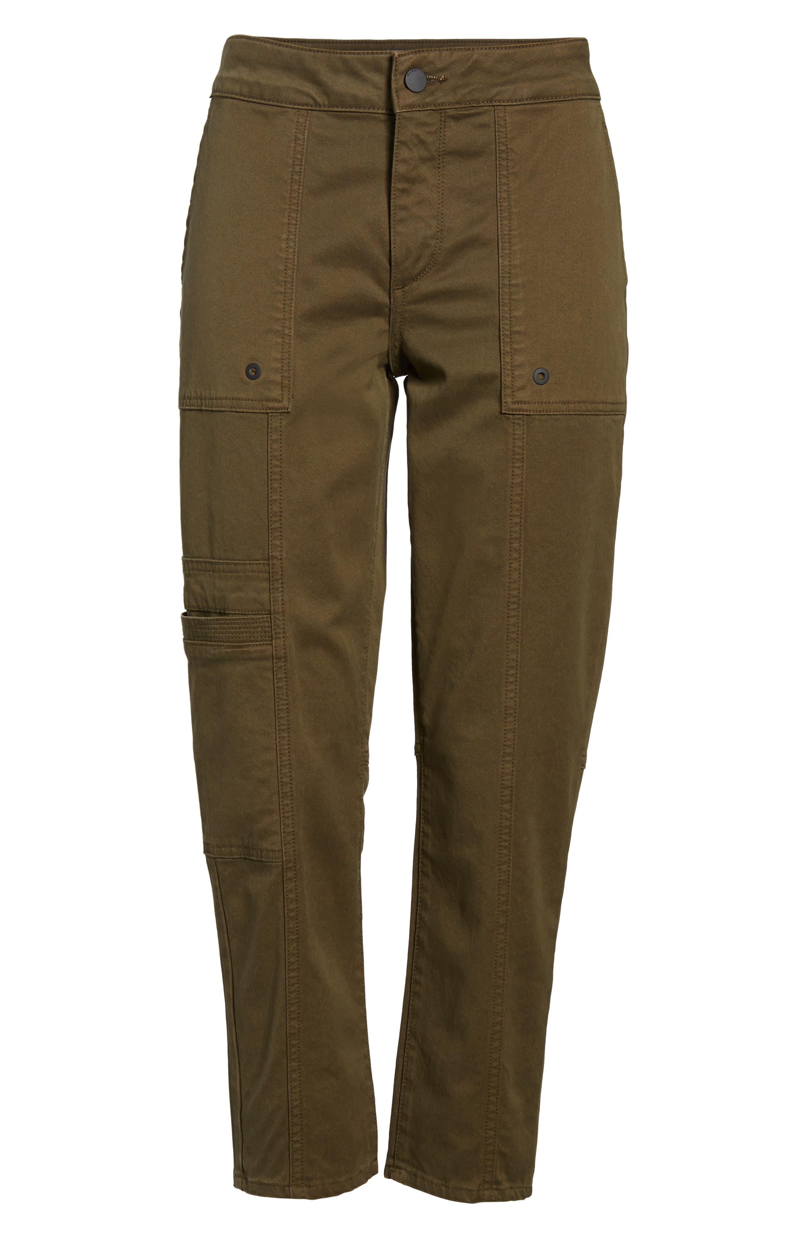 Elliot Slouchy Slim Cargo Pants,                             Alternate thumbnail 7, color,                             Driftless