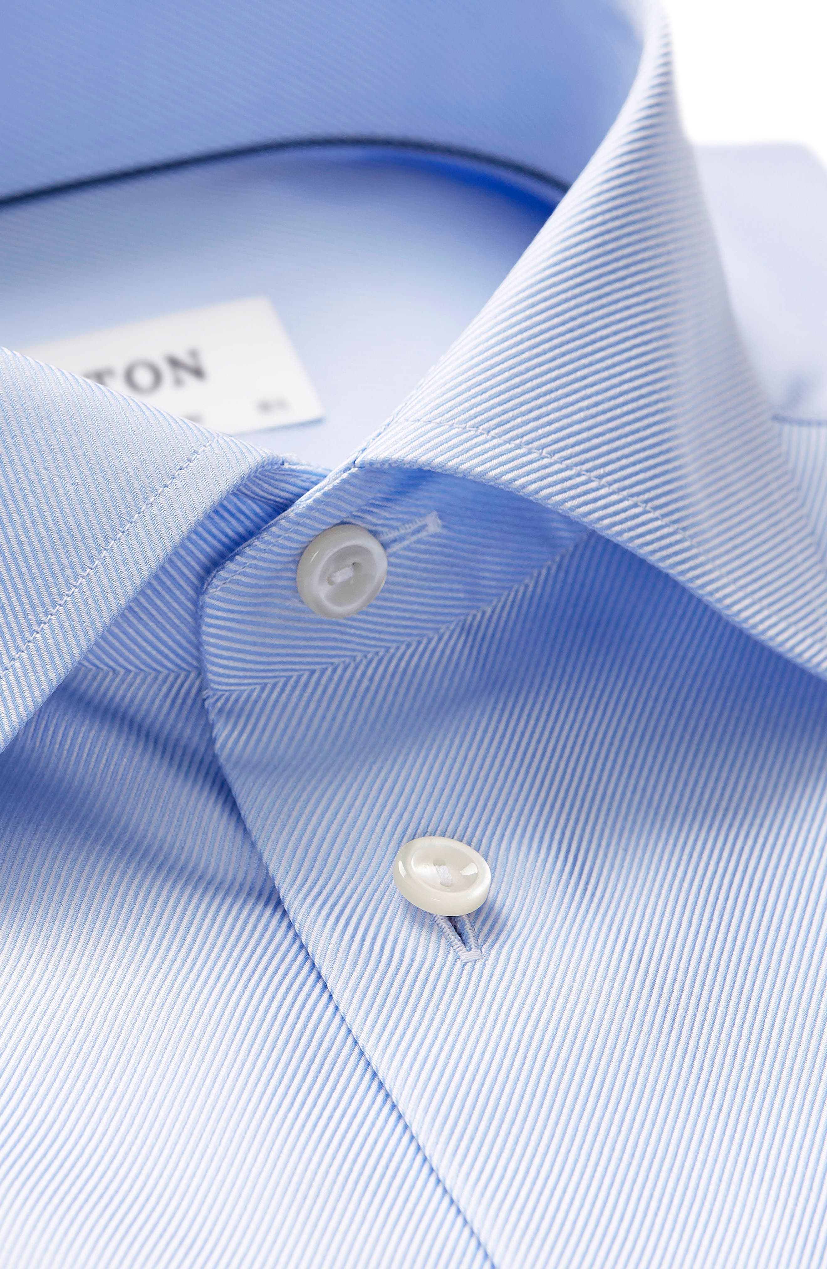 Contemporary Fit Cavalry Twill Dress Shirt,                             Alternate thumbnail 2, color,                             Blue