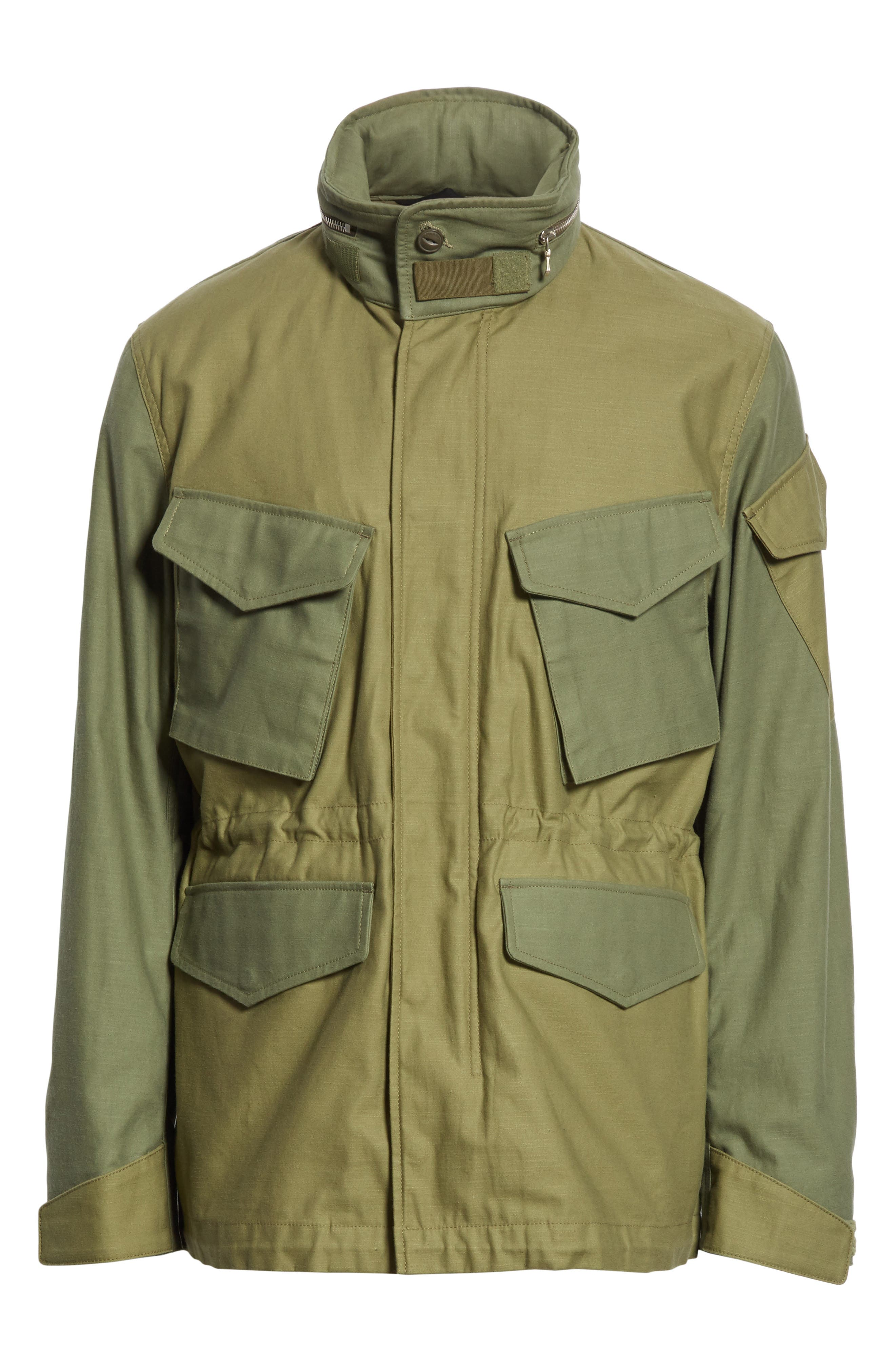 Field Jacket,                             Alternate thumbnail 6, color,                             Olive