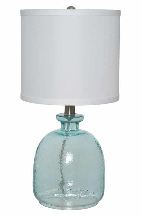 Jalexander lighting ocean glass accent lamp
