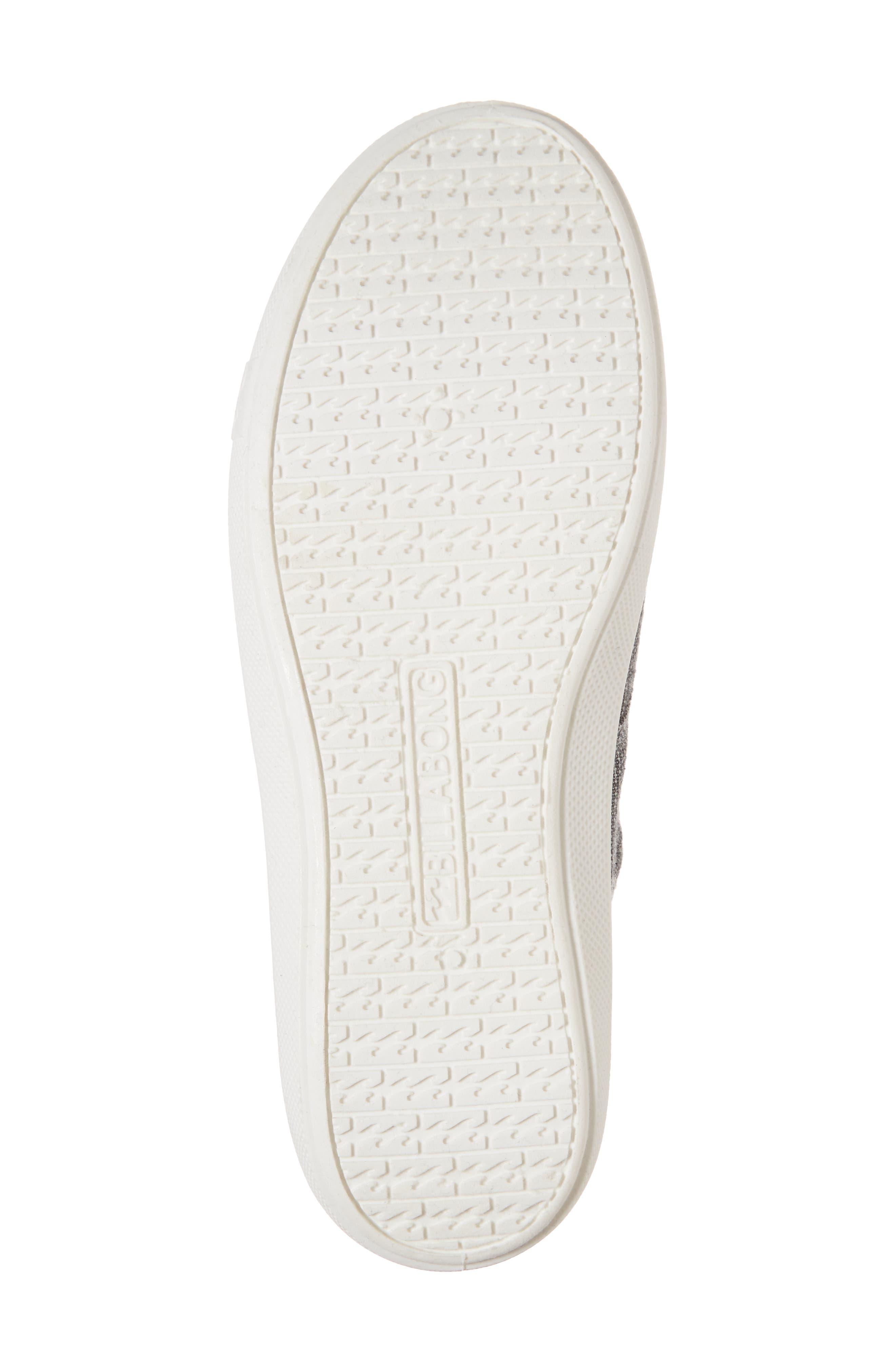 Addy Sneaker,                             Alternate thumbnail 6, color,                             Black/ White