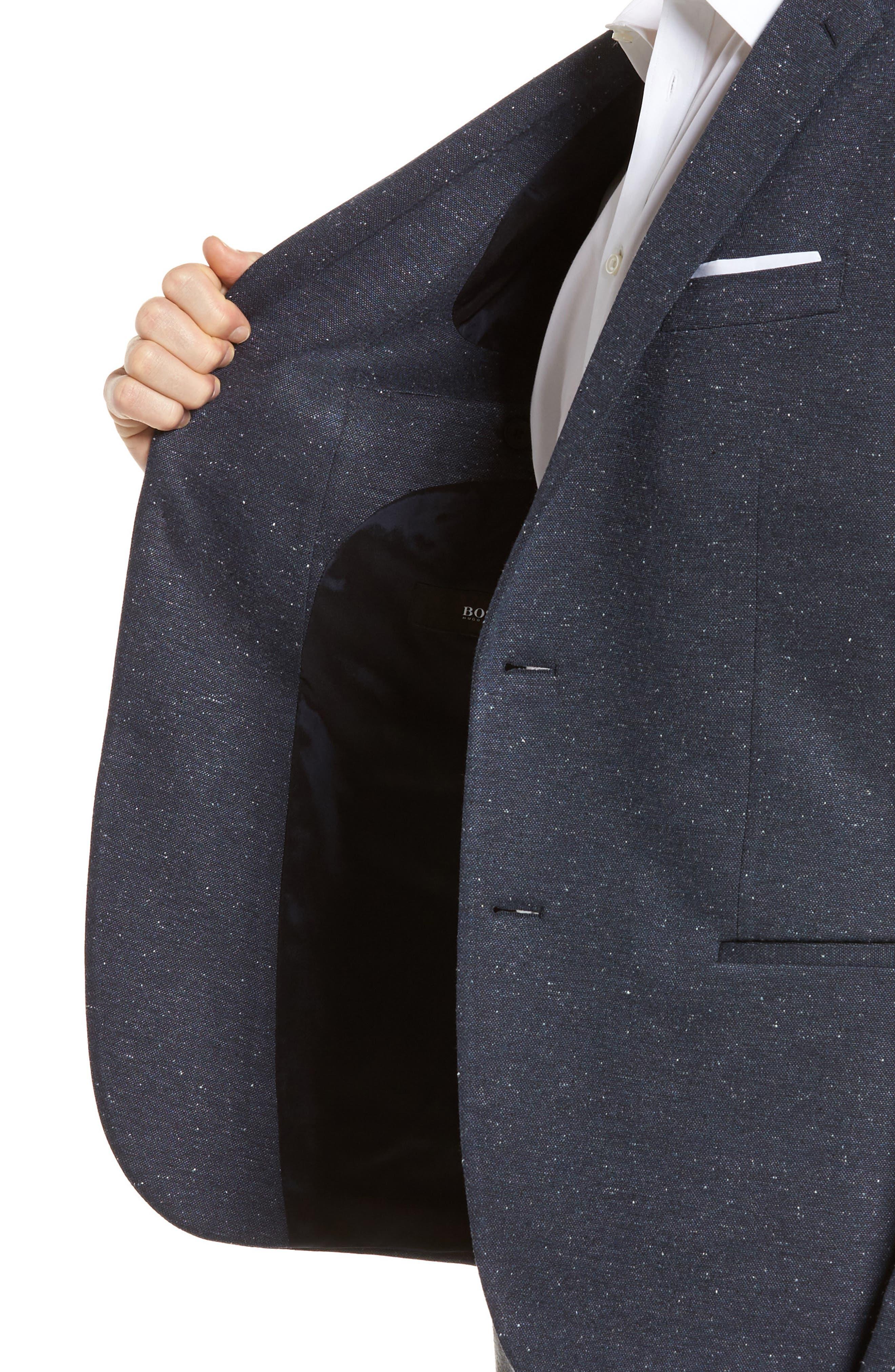 Alternate Image 4  - BOSS Norwin Trim Fit Stretch Blazer