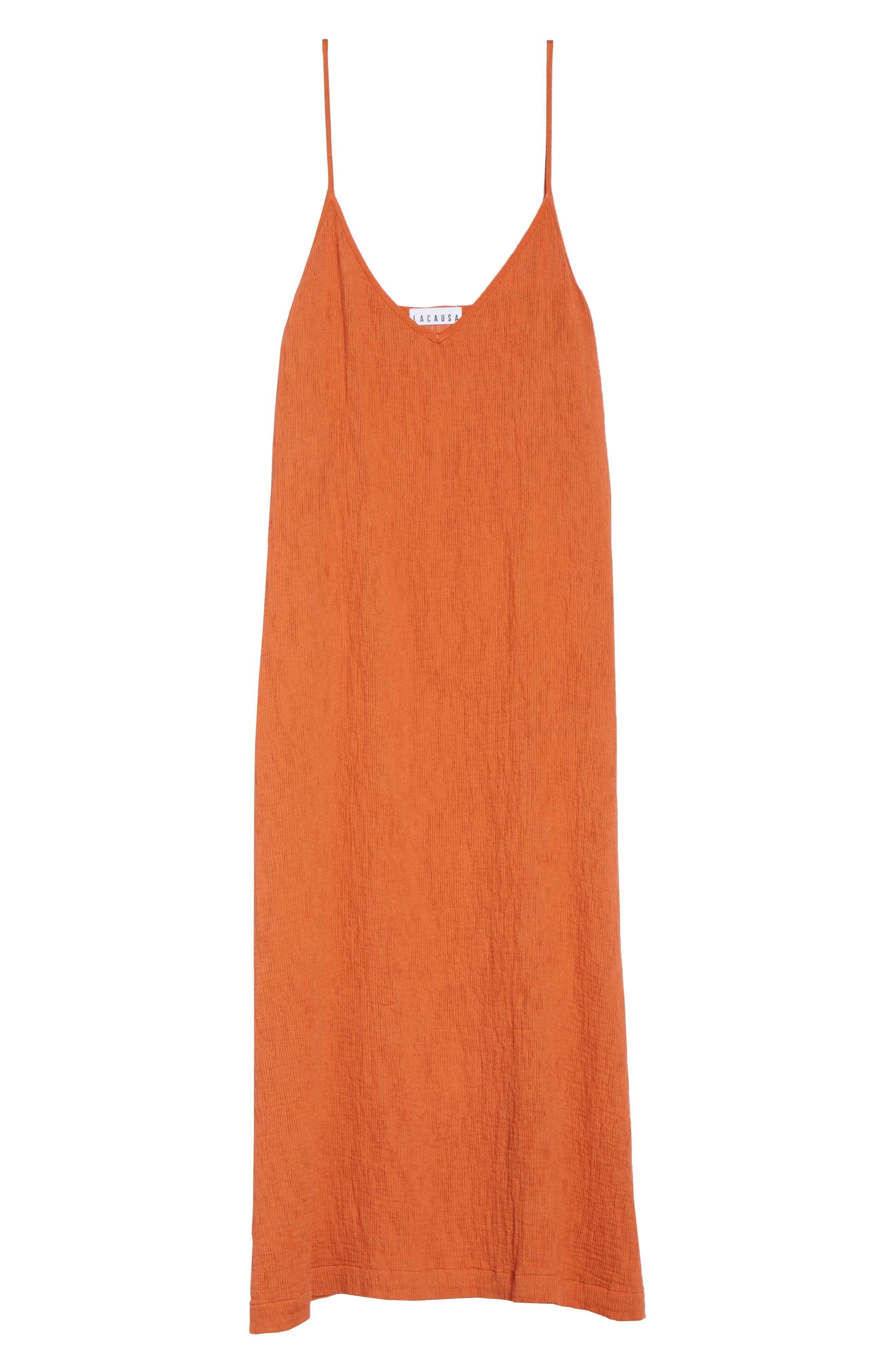 Spice Nightgown,                             Alternate thumbnail 6, color,                             Cayenne
