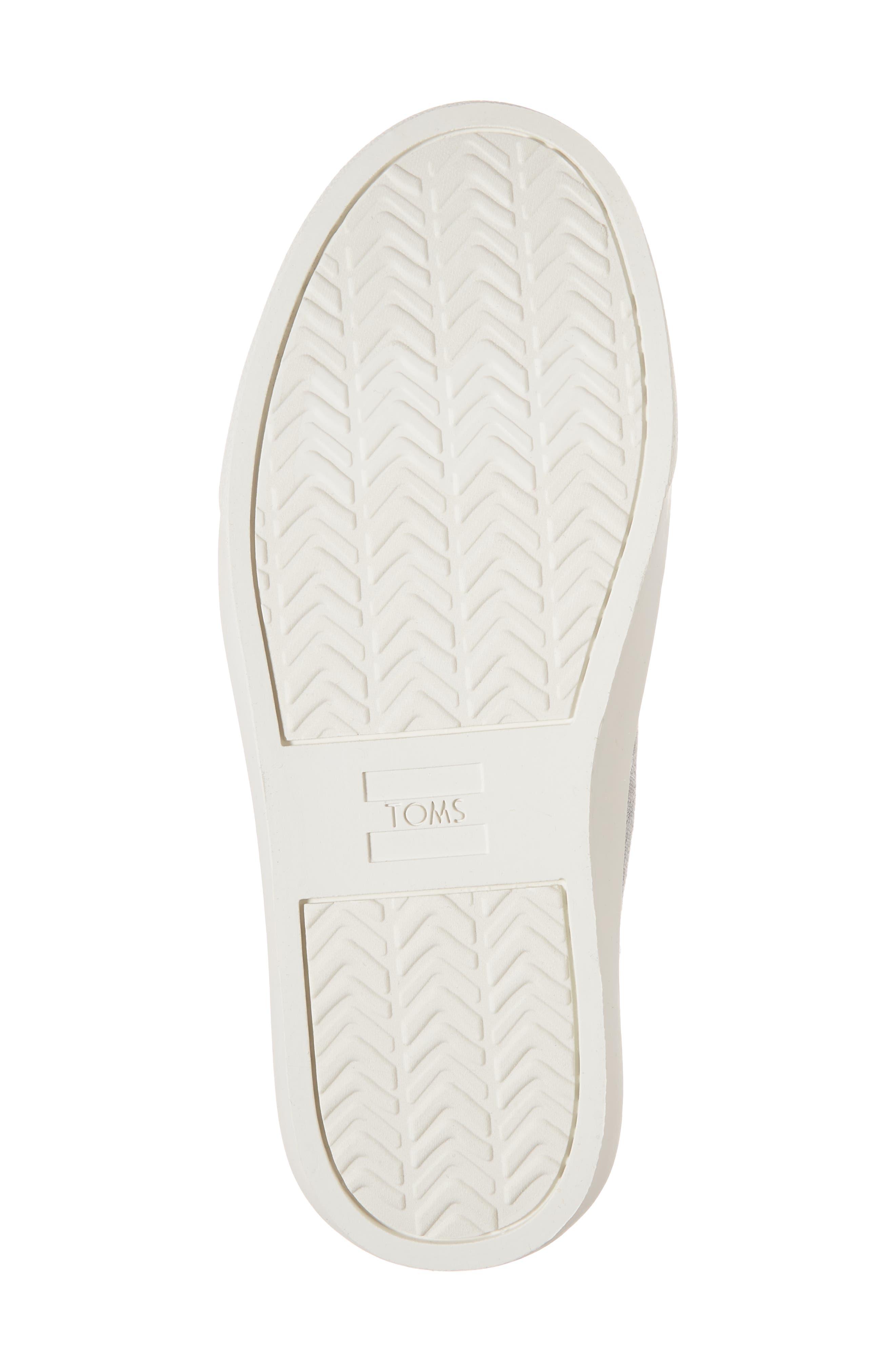 Lenny Sneaker,                             Alternate thumbnail 6, color,                             Drizzle Grey Slub Chambray
