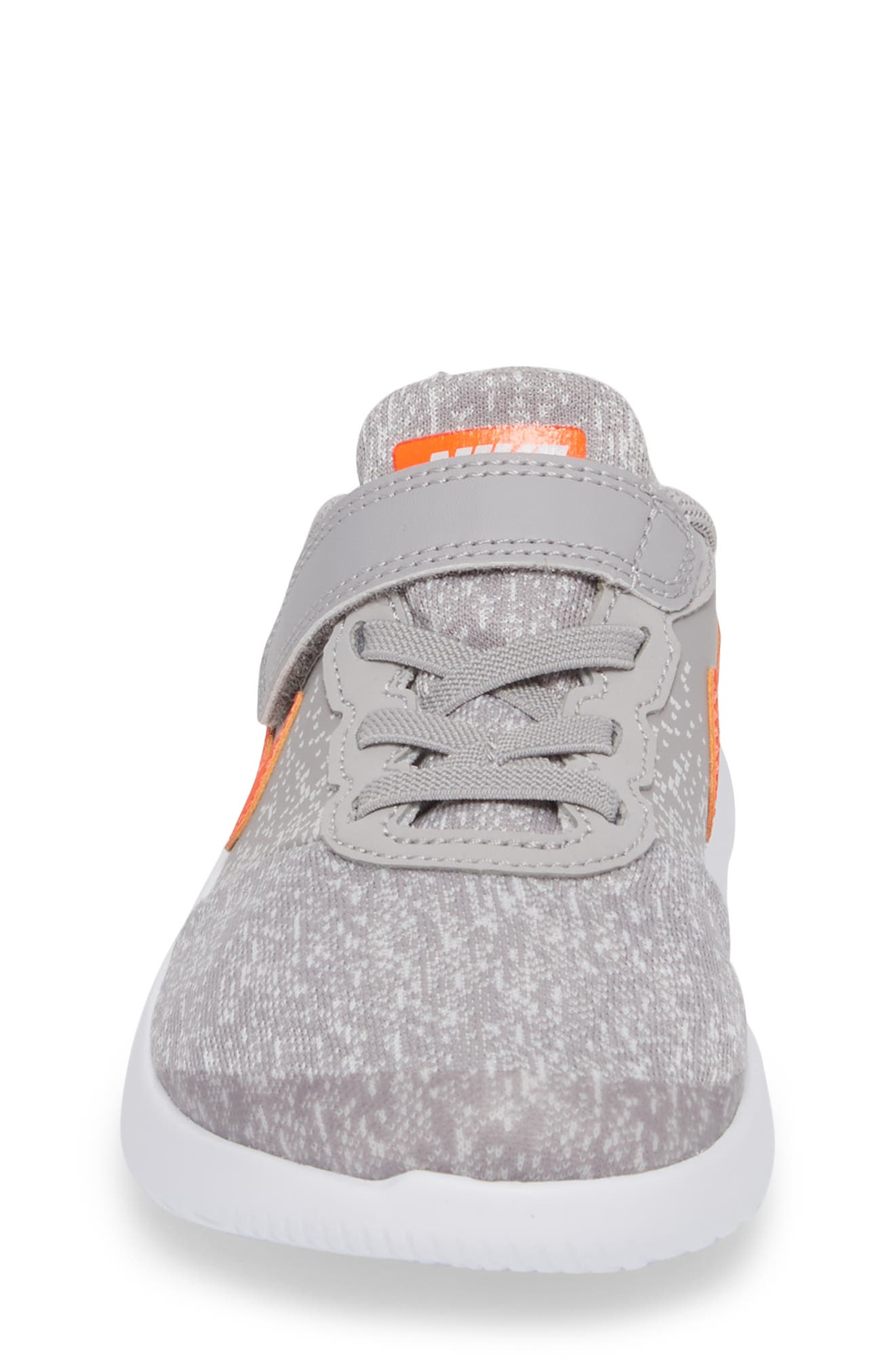 Flex Contact Running Shoe,                             Alternate thumbnail 5, color,                             Atmosphere Grey/ Total Crimson