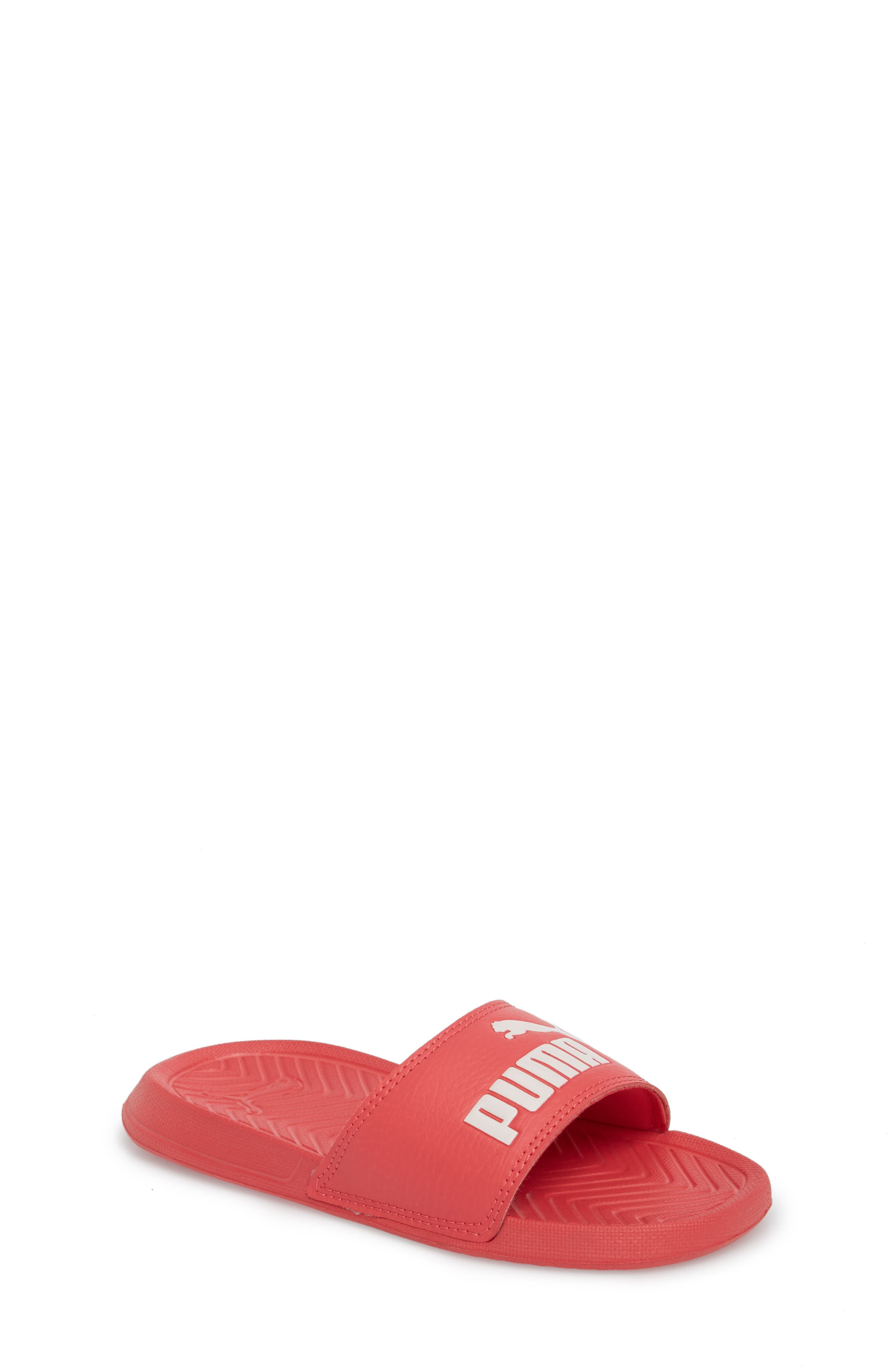 Popcat Slide Sandal,                             Main thumbnail 1, color,                             Paradise Pink/ Pearl