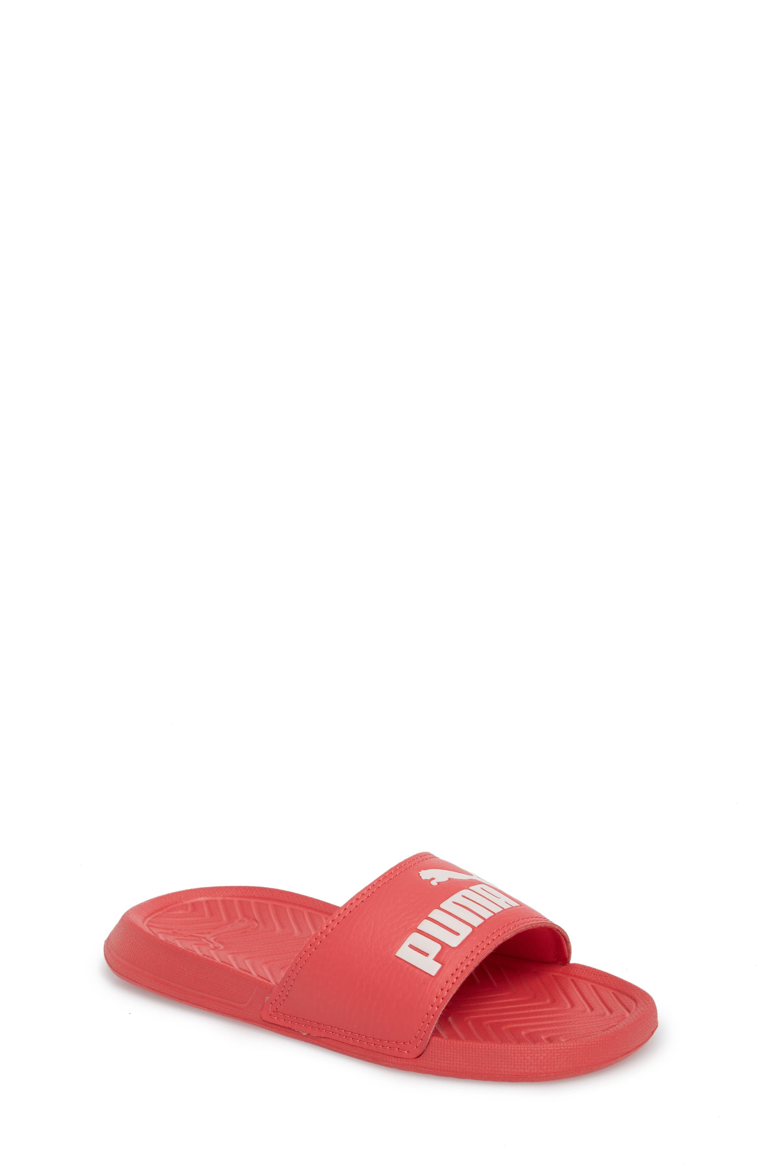 Popcat Slide Sandal,                         Main,                         color, Paradise Pink/ Pearl