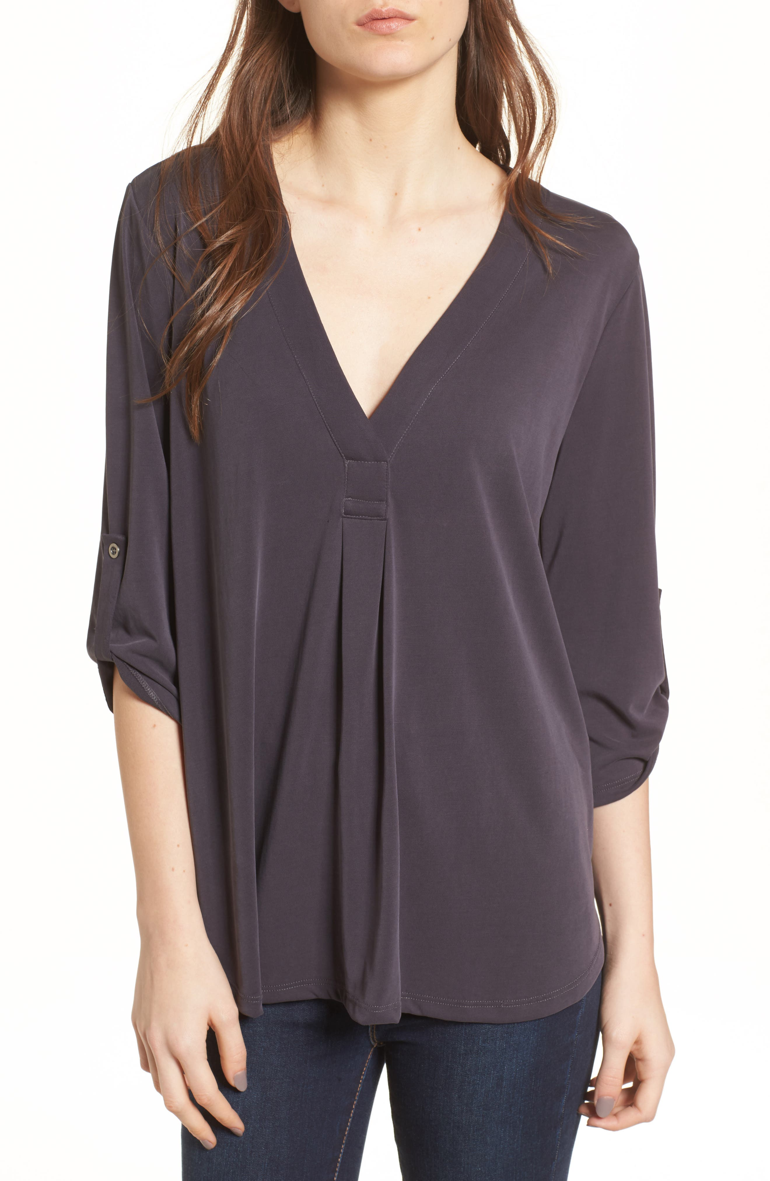 Henley,                         Main,                         color, Charcoal