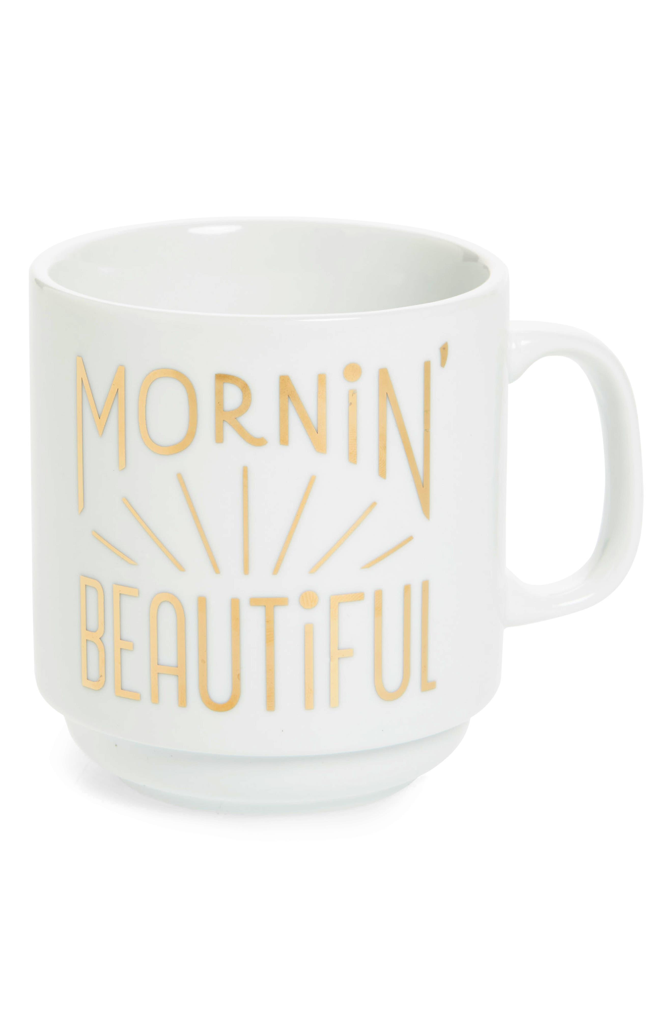 Easy, Tiger Mornin' Beautiful Mug