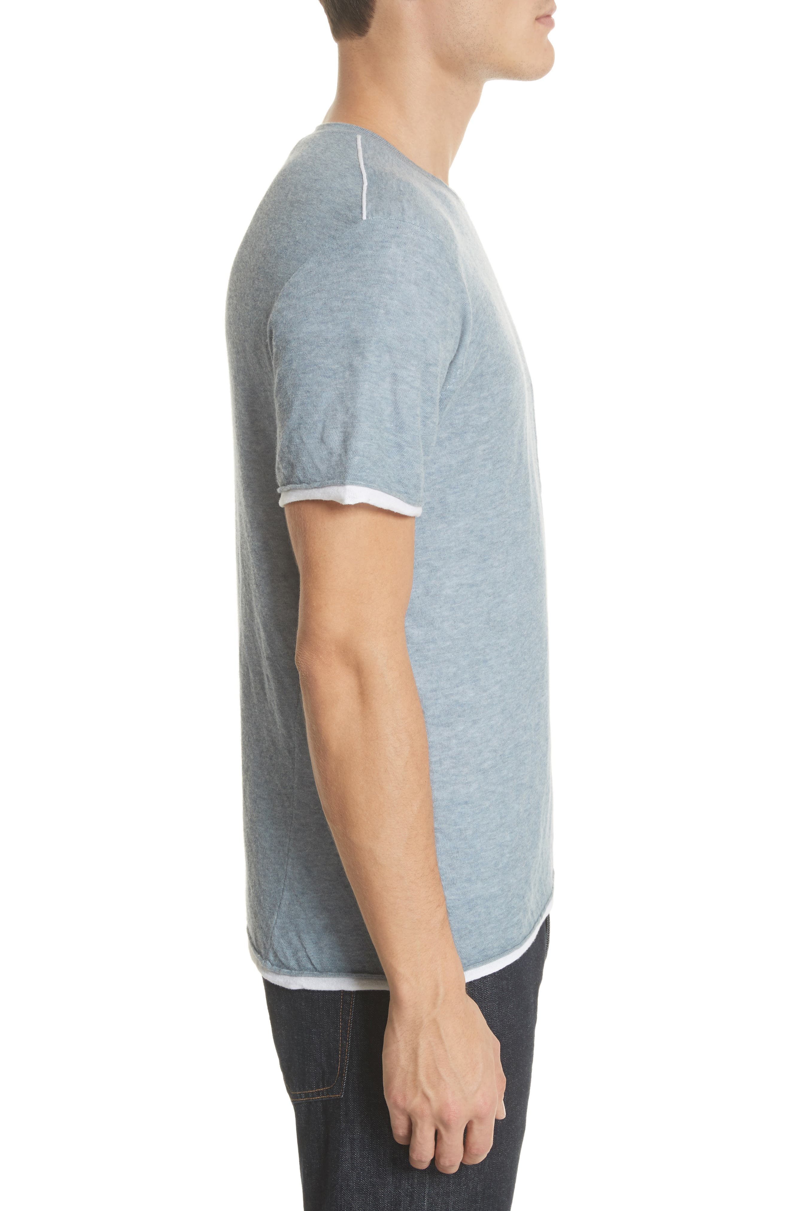Tripp Pocket T-Shirt,                             Alternate thumbnail 3, color,                             Light Blue