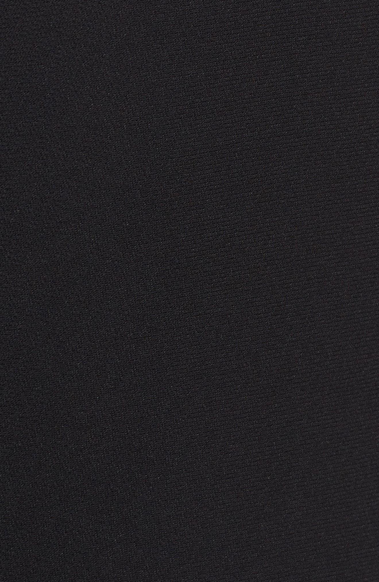 Split Back Blazer,                             Alternate thumbnail 5, color,                             Black