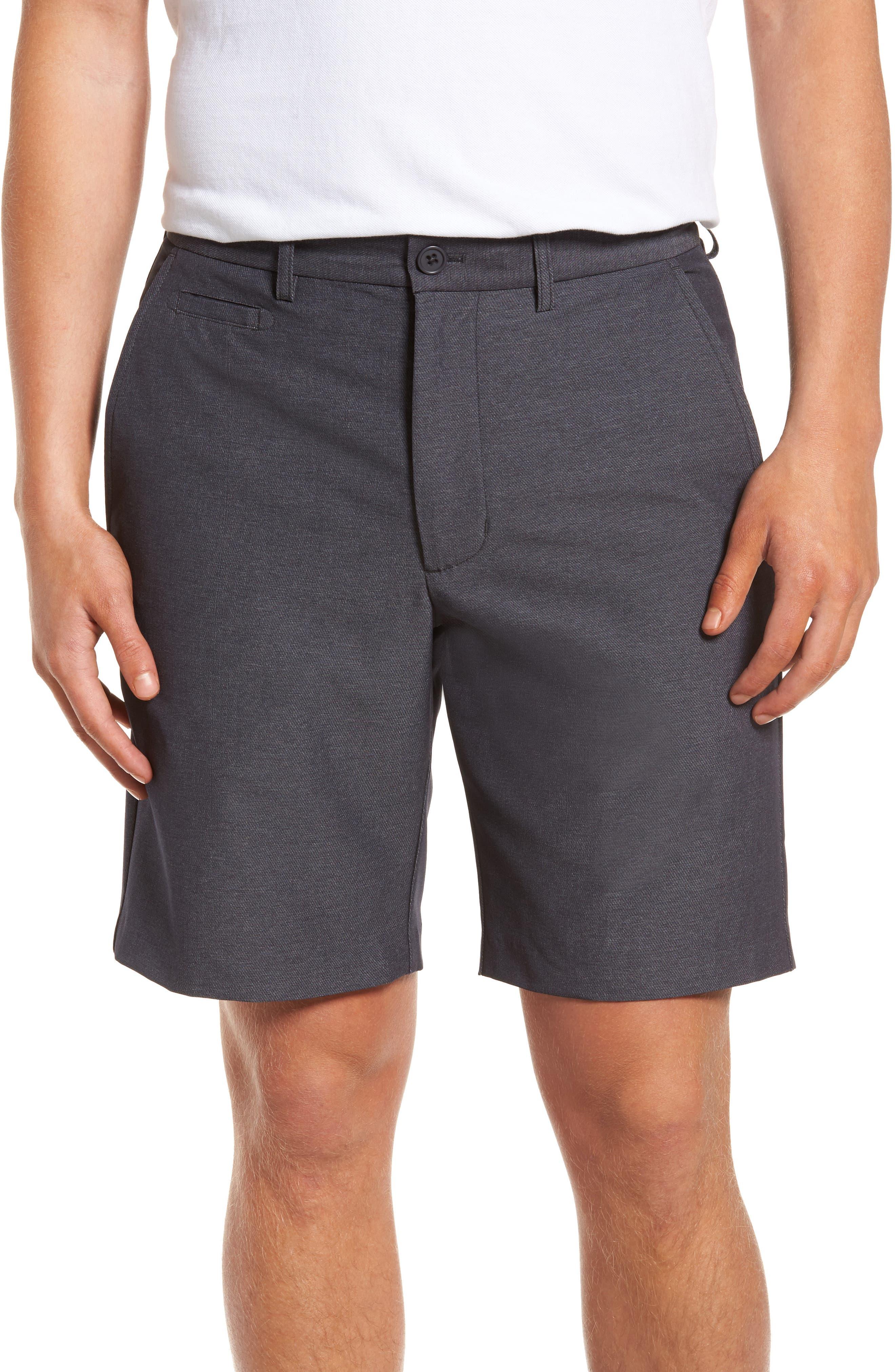 Performance Chino Shorts,                         Main,                         color, Grey Onyx Heather