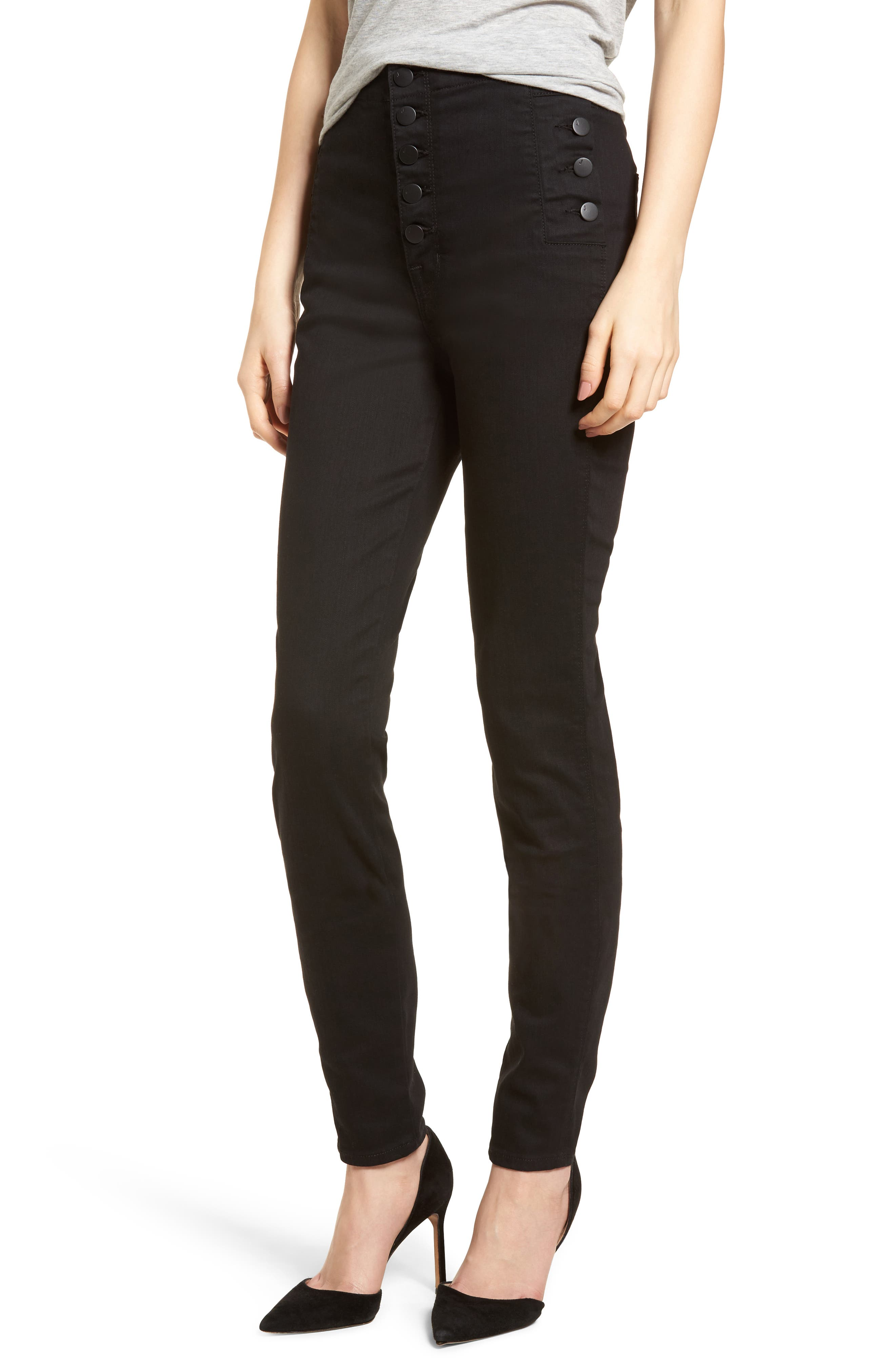 Natasha Photoready High Waist Skinny Jeans,                             Main thumbnail 1, color,                             Vanity