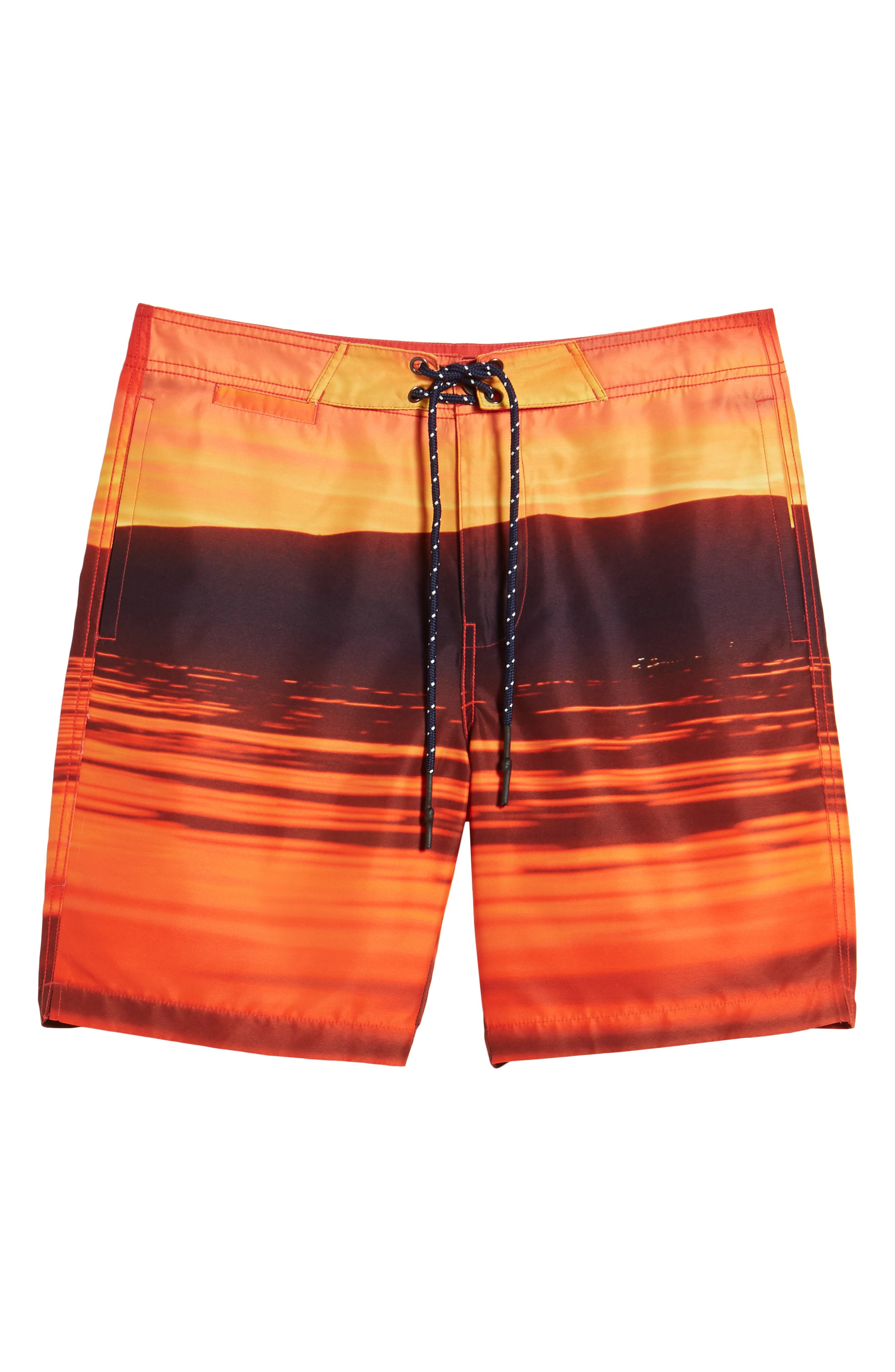 Red Sea Photo Real Board Shorts,                             Alternate thumbnail 6, color,                             Mars Red