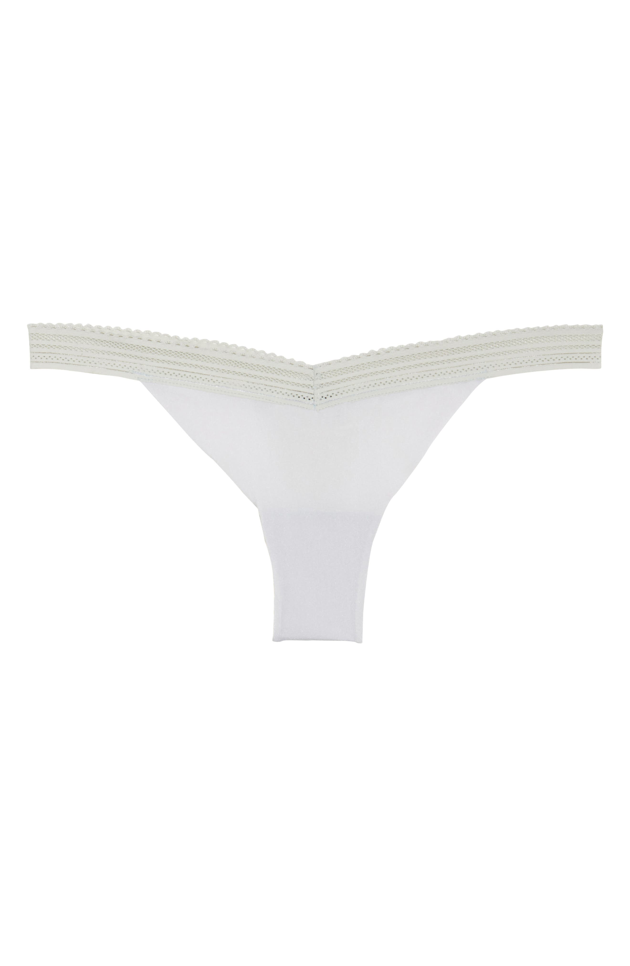 Laced In Aire Thong,                             Alternate thumbnail 4, color,                             Desert Sage