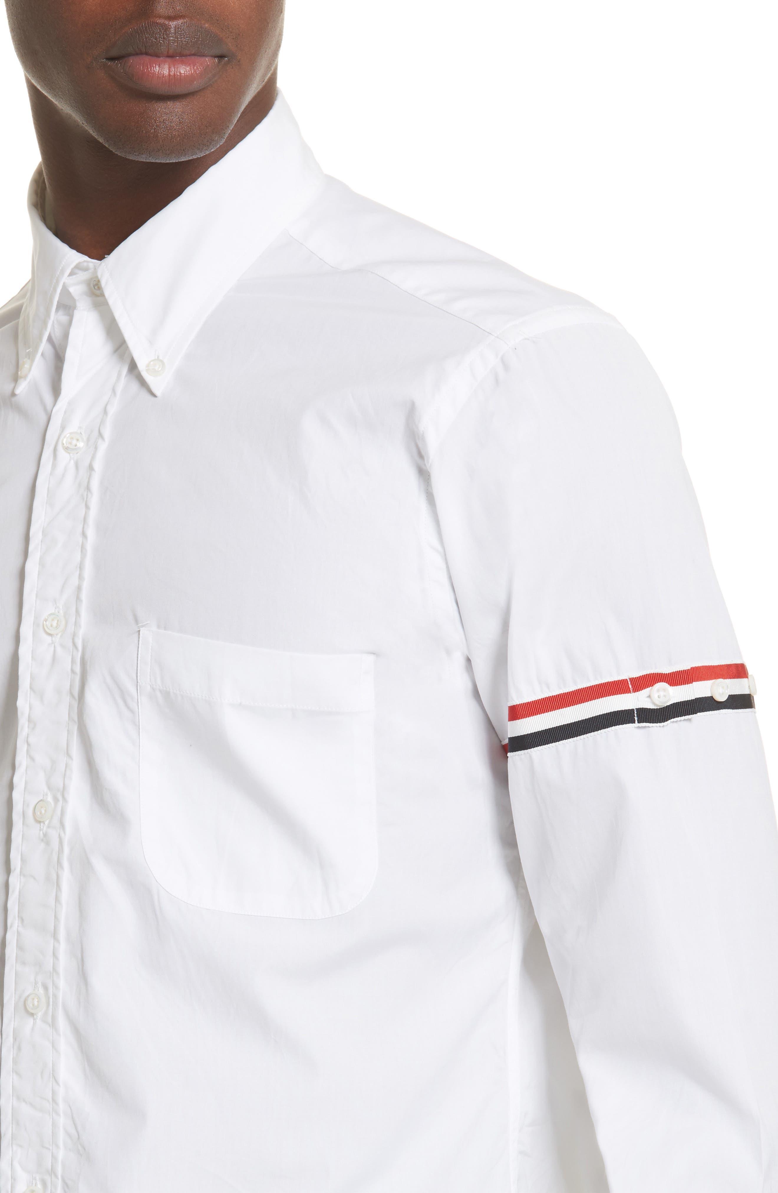 Woven Shirt,                             Alternate thumbnail 2, color,                             Off White