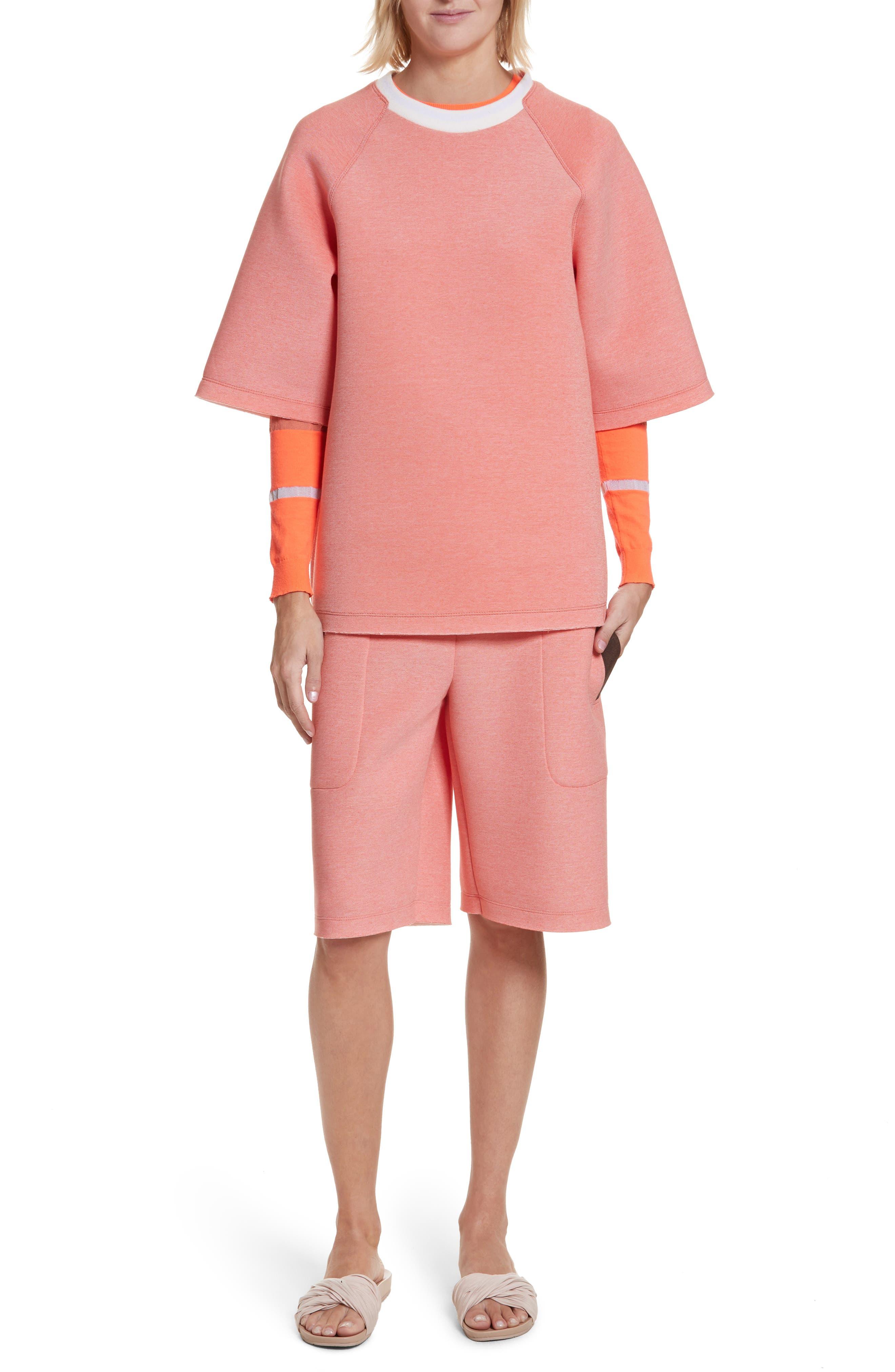 Tech Shorts,                             Alternate thumbnail 8, color,                             Coral