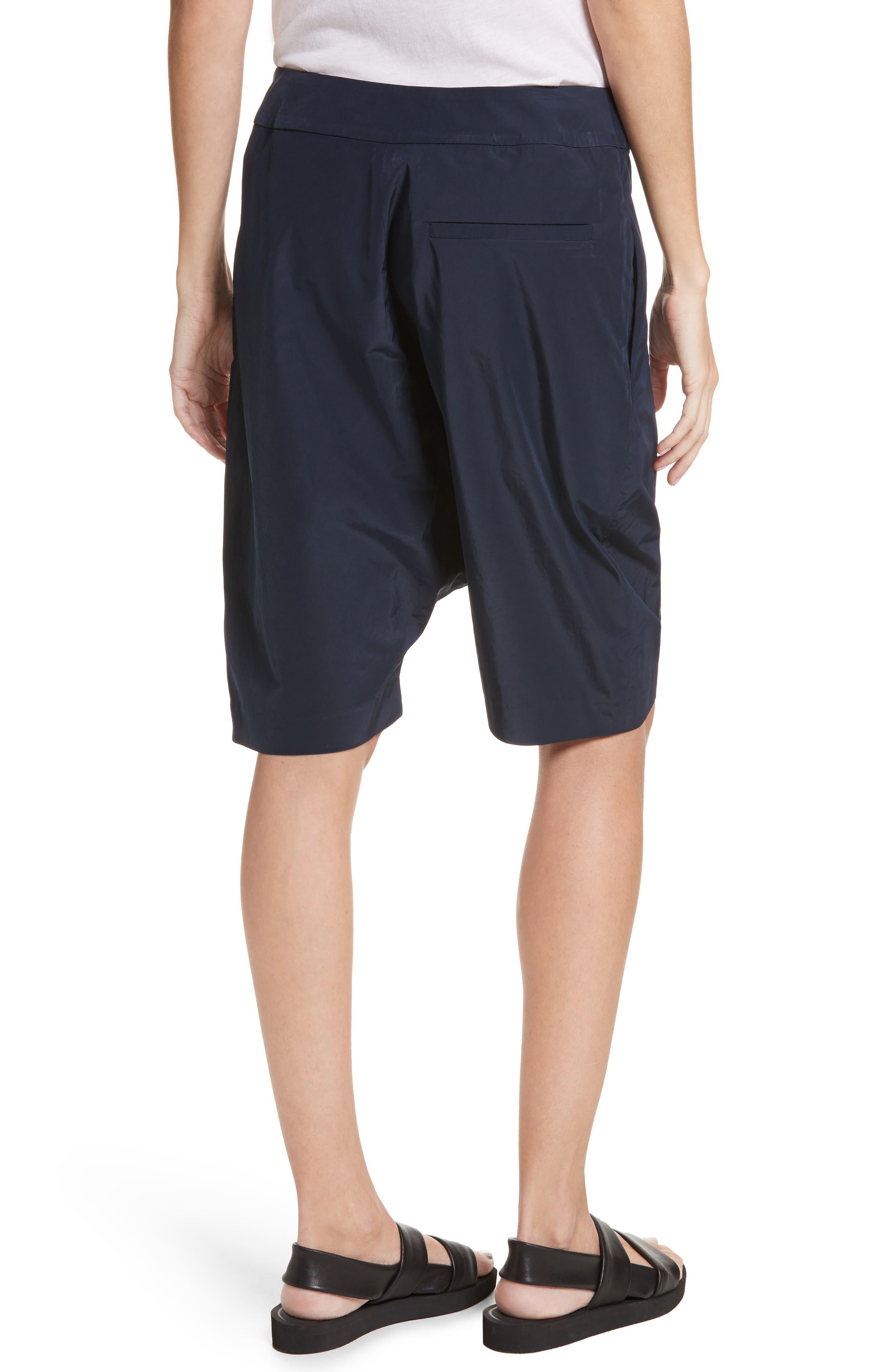 Drop Crotch Shorts,                             Alternate thumbnail 2, color,                             Navy