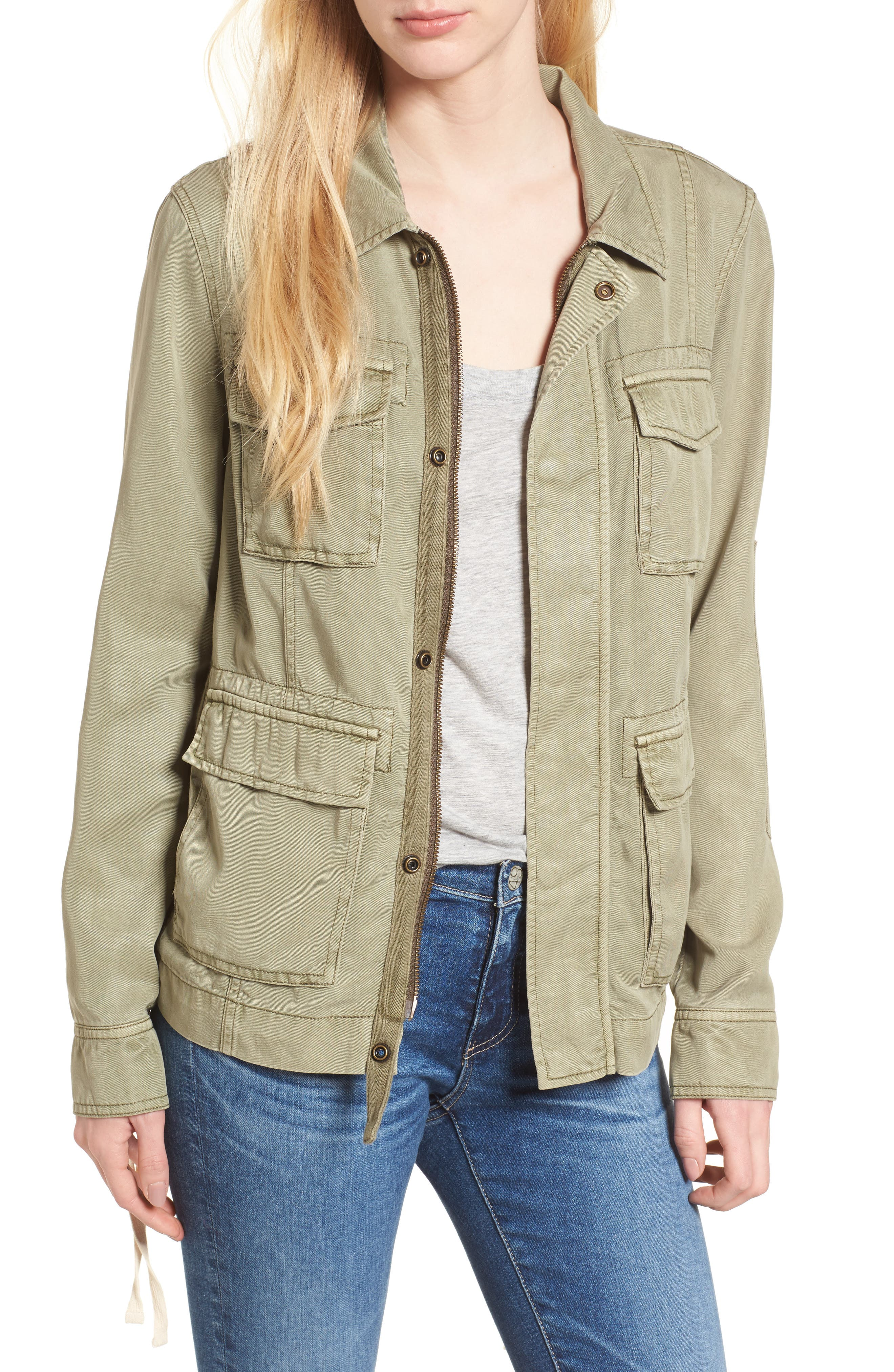 Pam & Gela Lace-Up Field Jacket