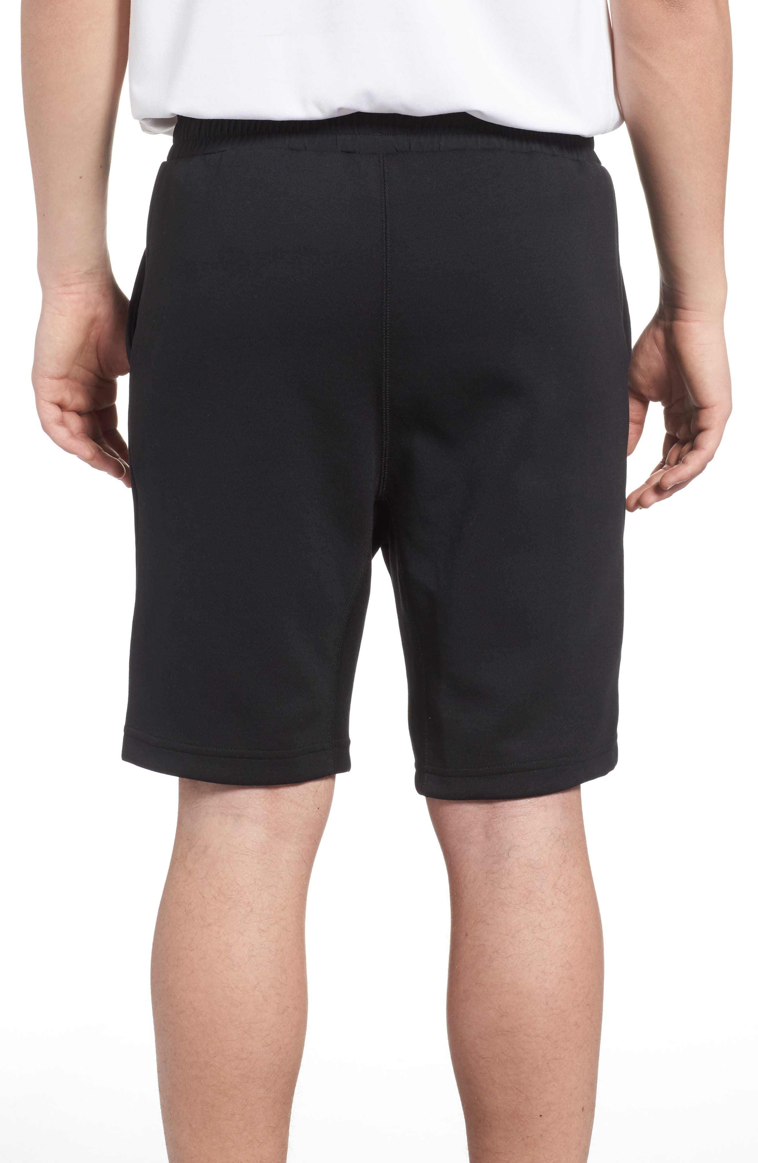 TS Knit Shorts,                             Alternate thumbnail 2, color,                             Black
