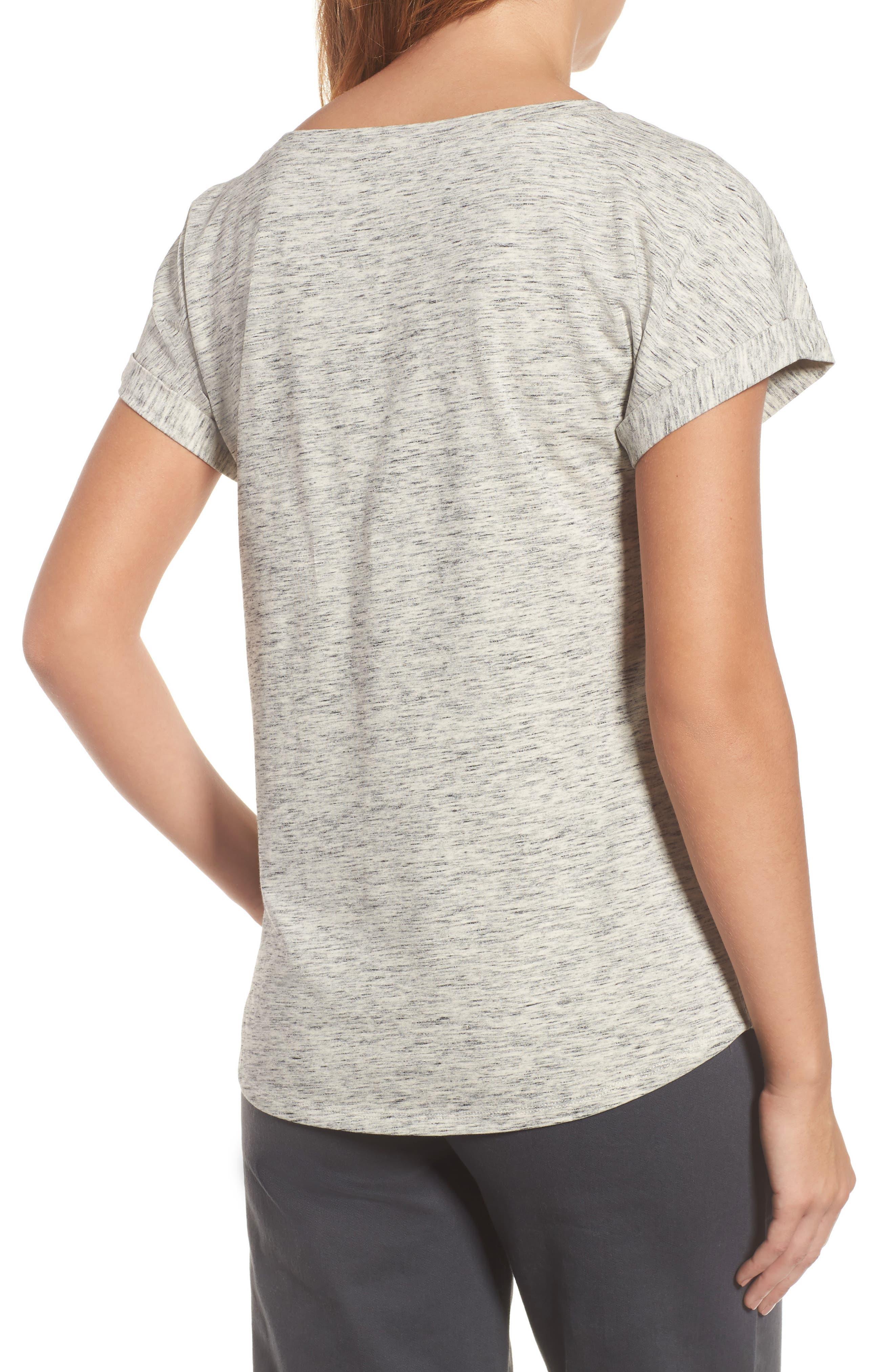 Alternate Image 2  - NIC+ZOE Henna Short Sleeve Top (Regular & Petite)