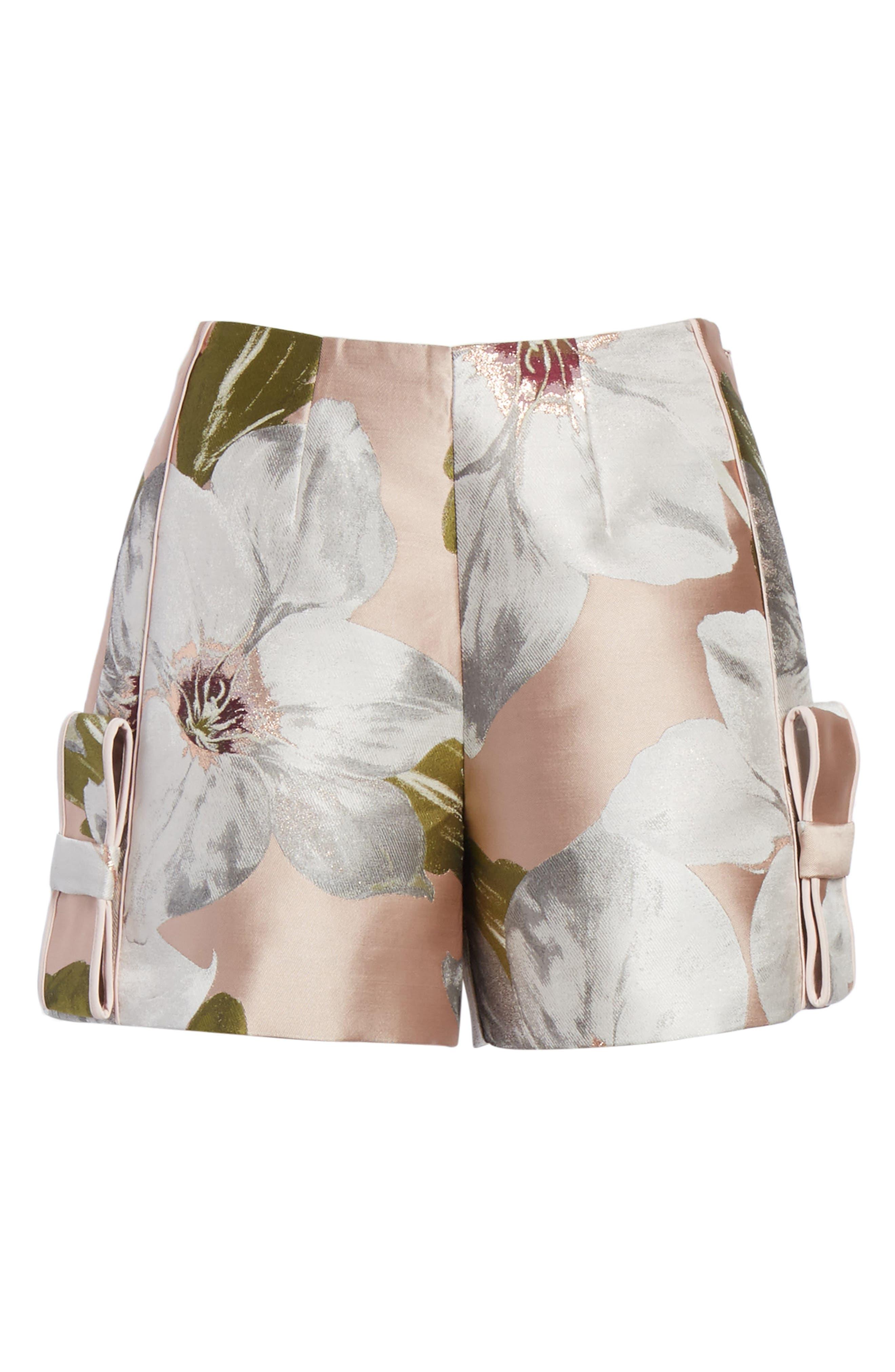Alternate Image 6  - Ted Baker London Chatsworth Jacquard Shorts