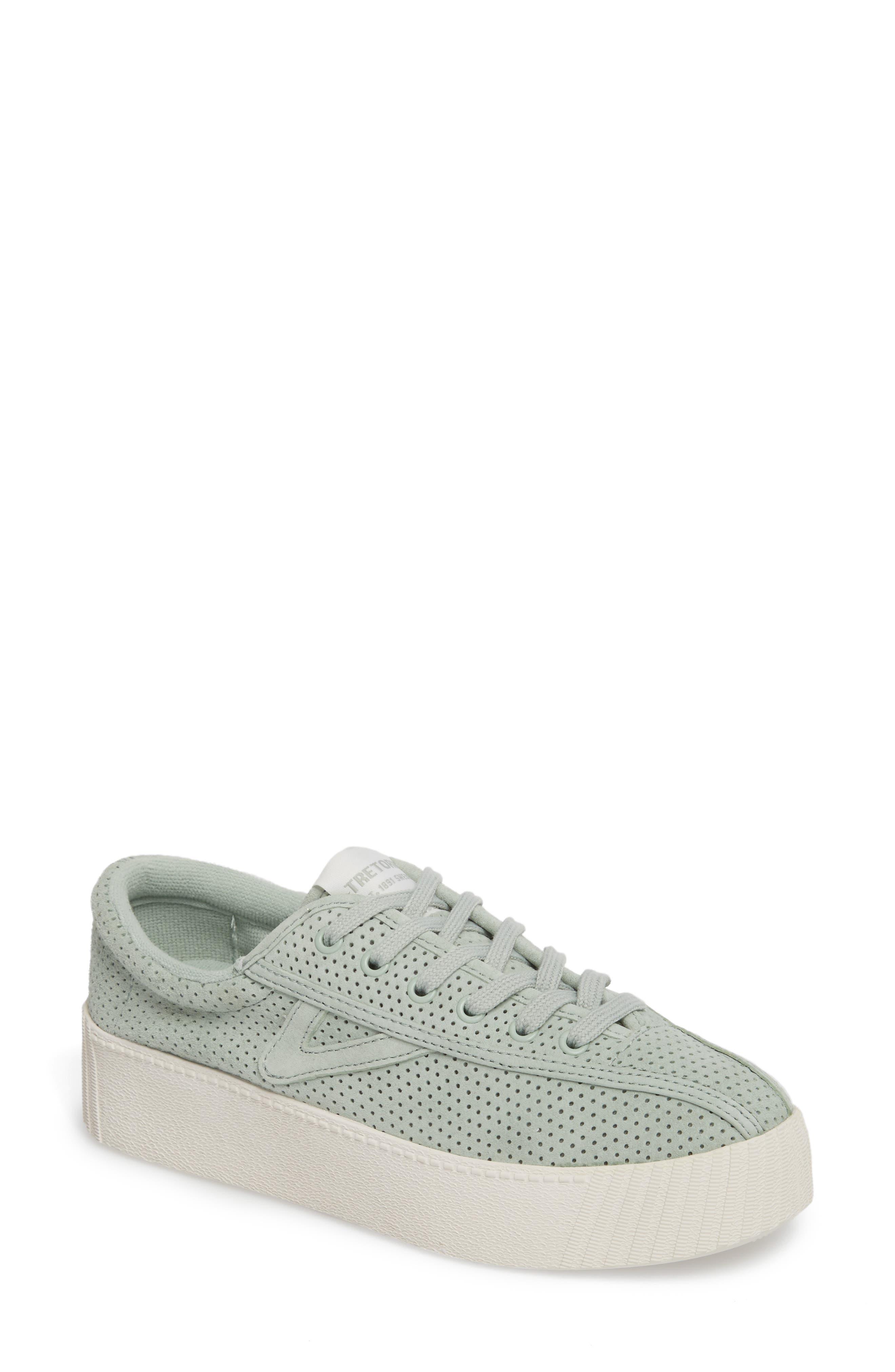 Tretorn Bold Perforated Platform Sneaker (Women)