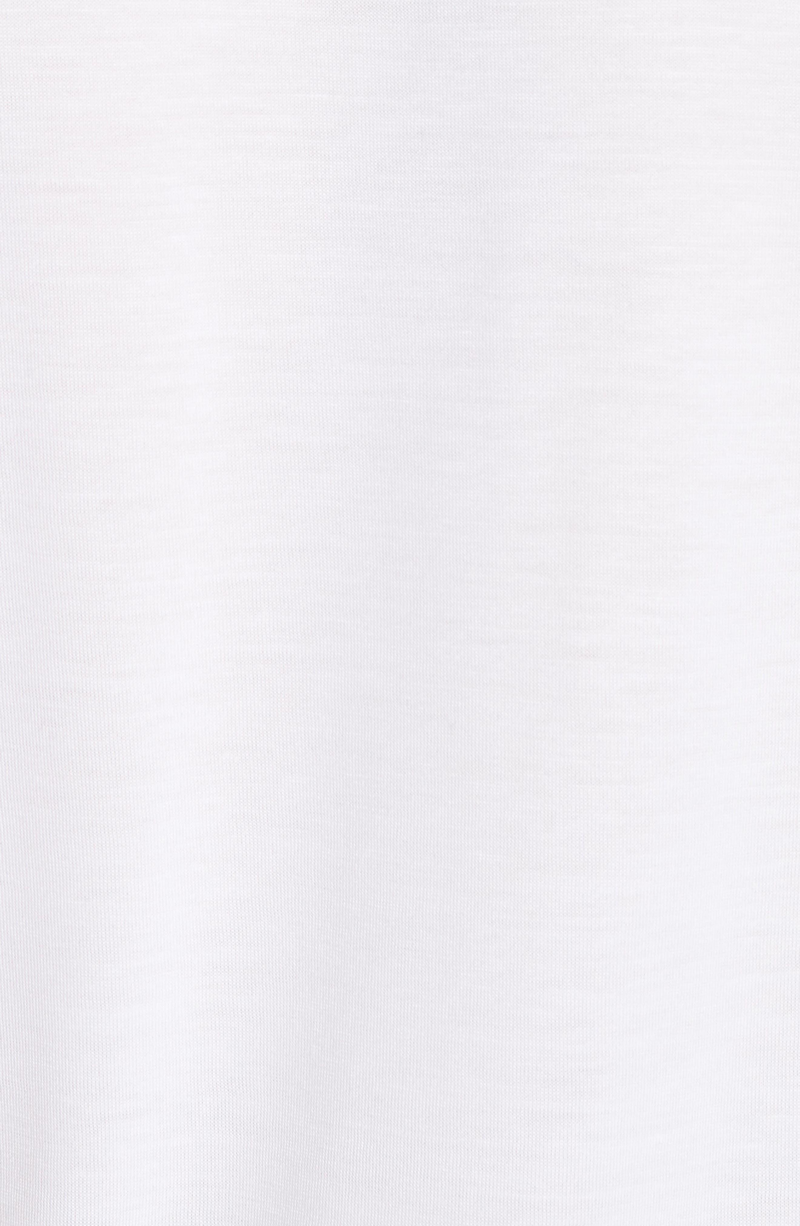 Highgrove Frill Trim Top,                             Alternate thumbnail 5, color,                             White