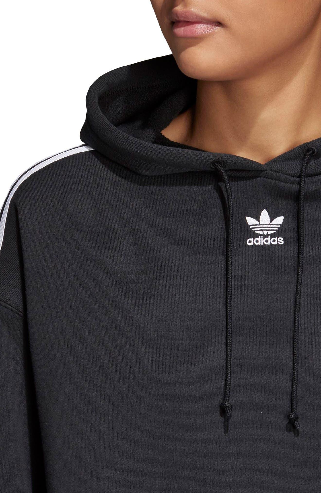 Alternate Image 2  - adidas Originals Cropped Hoodie