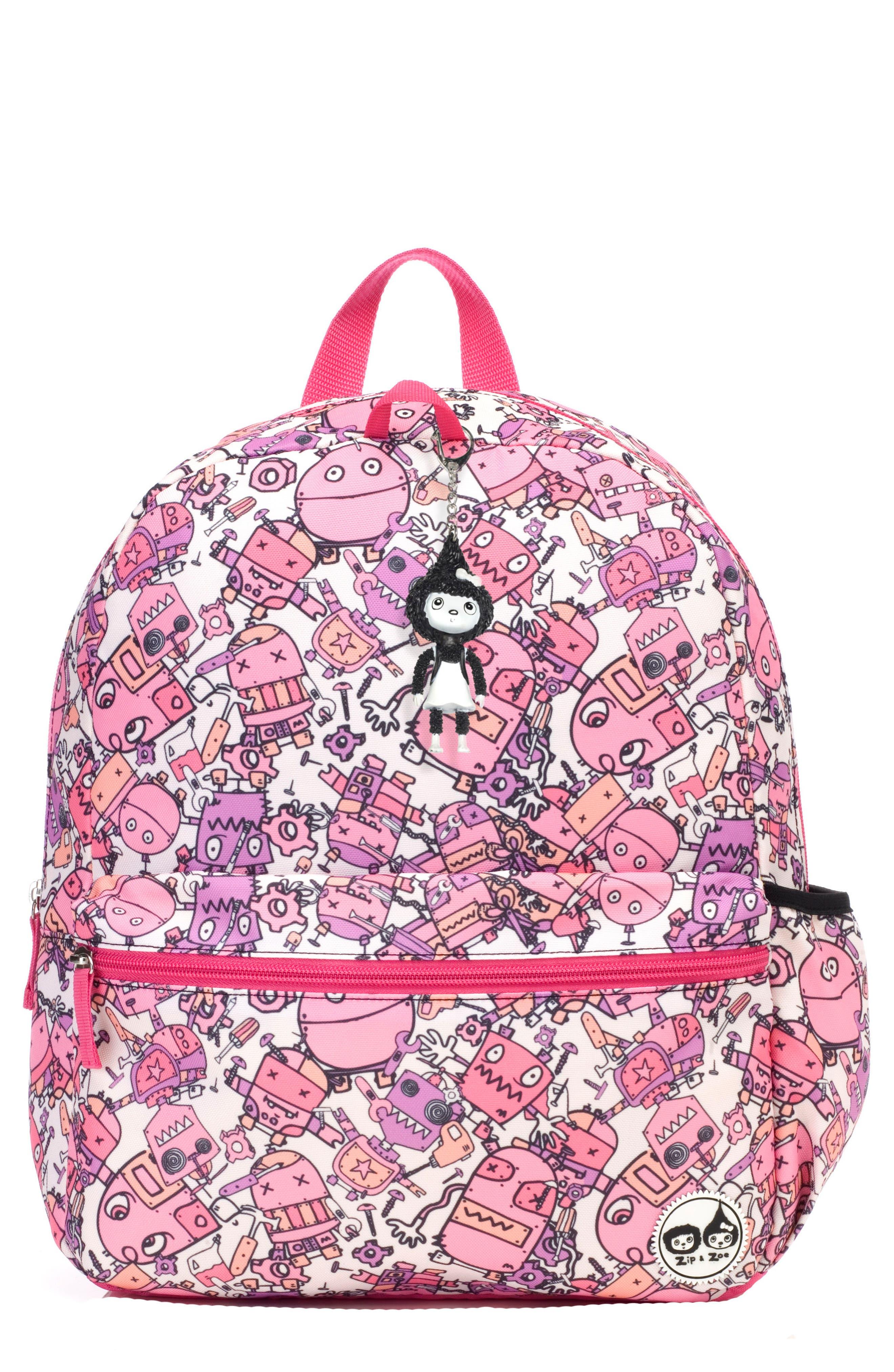 Babymel Zip & Zoe Robots Junior Backpack (Kids)