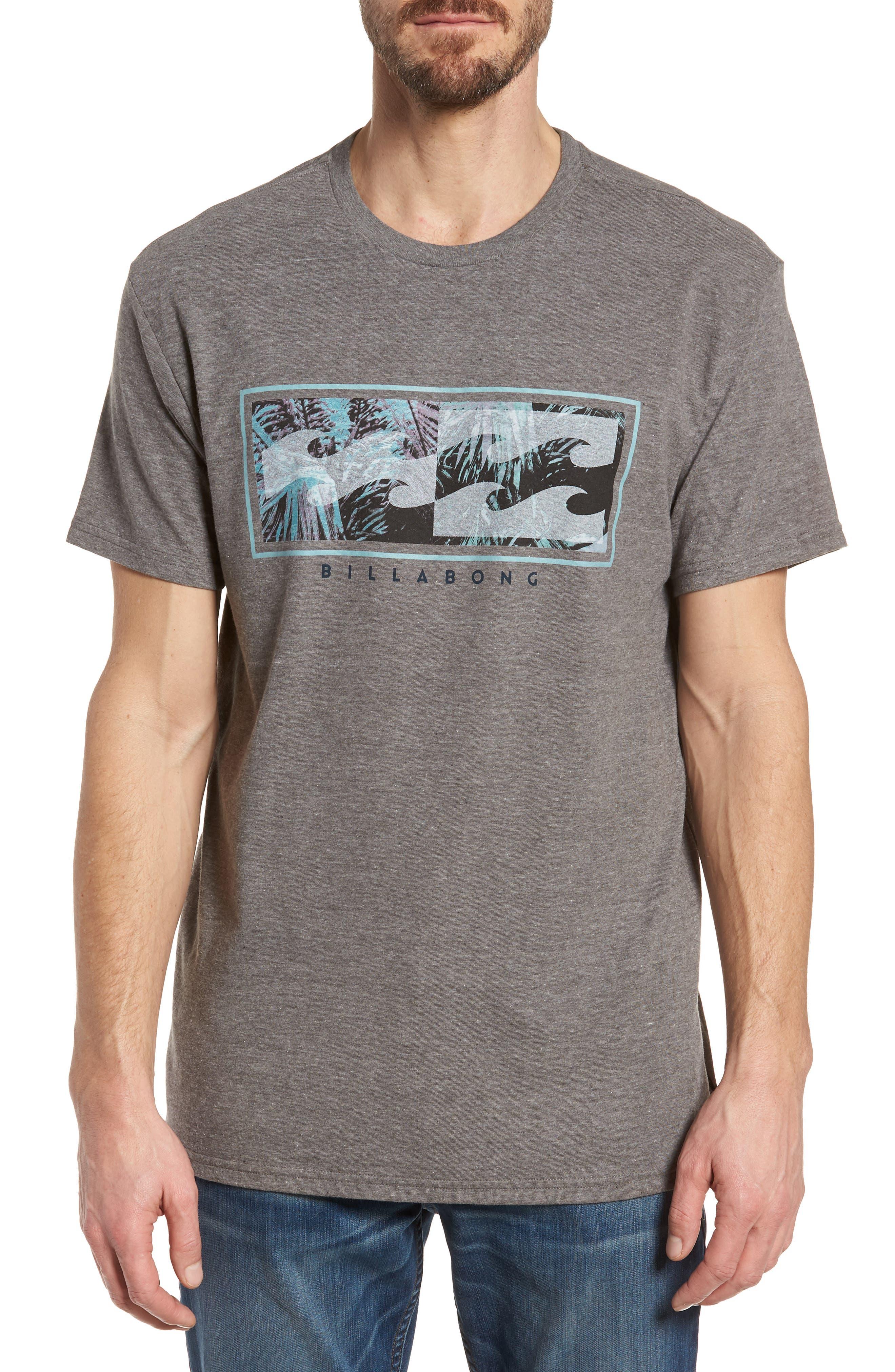 Inverse Graphic T-Shirt,                             Main thumbnail 1, color,                             Dark Grey Heather
