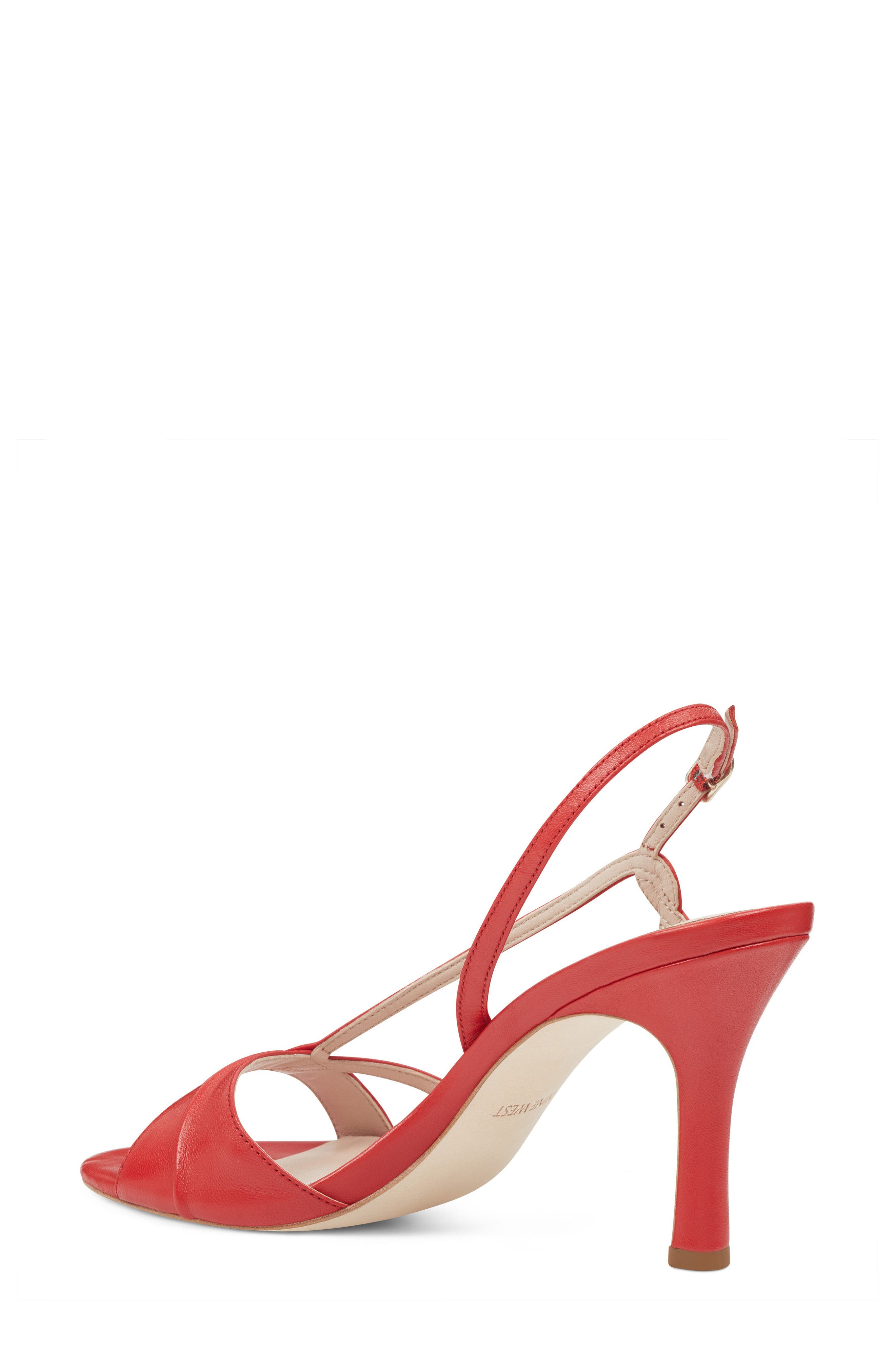 Accolia - 40th Anniversary Capsule Collection Sandal,                             Alternate thumbnail 2, color,                             Red Leather