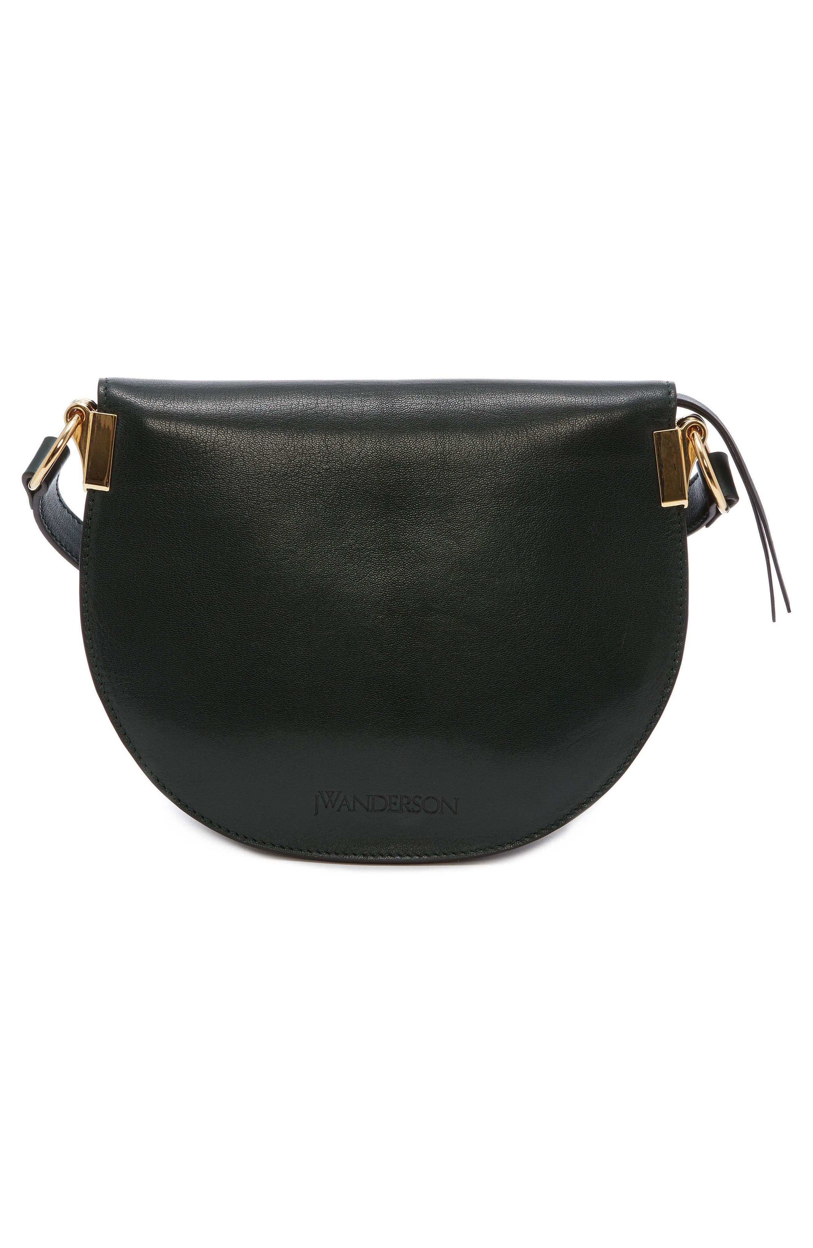 J.W.ANDERSON Latch Crossbody Bag,                             Alternate thumbnail 2, color,                             Forest Green