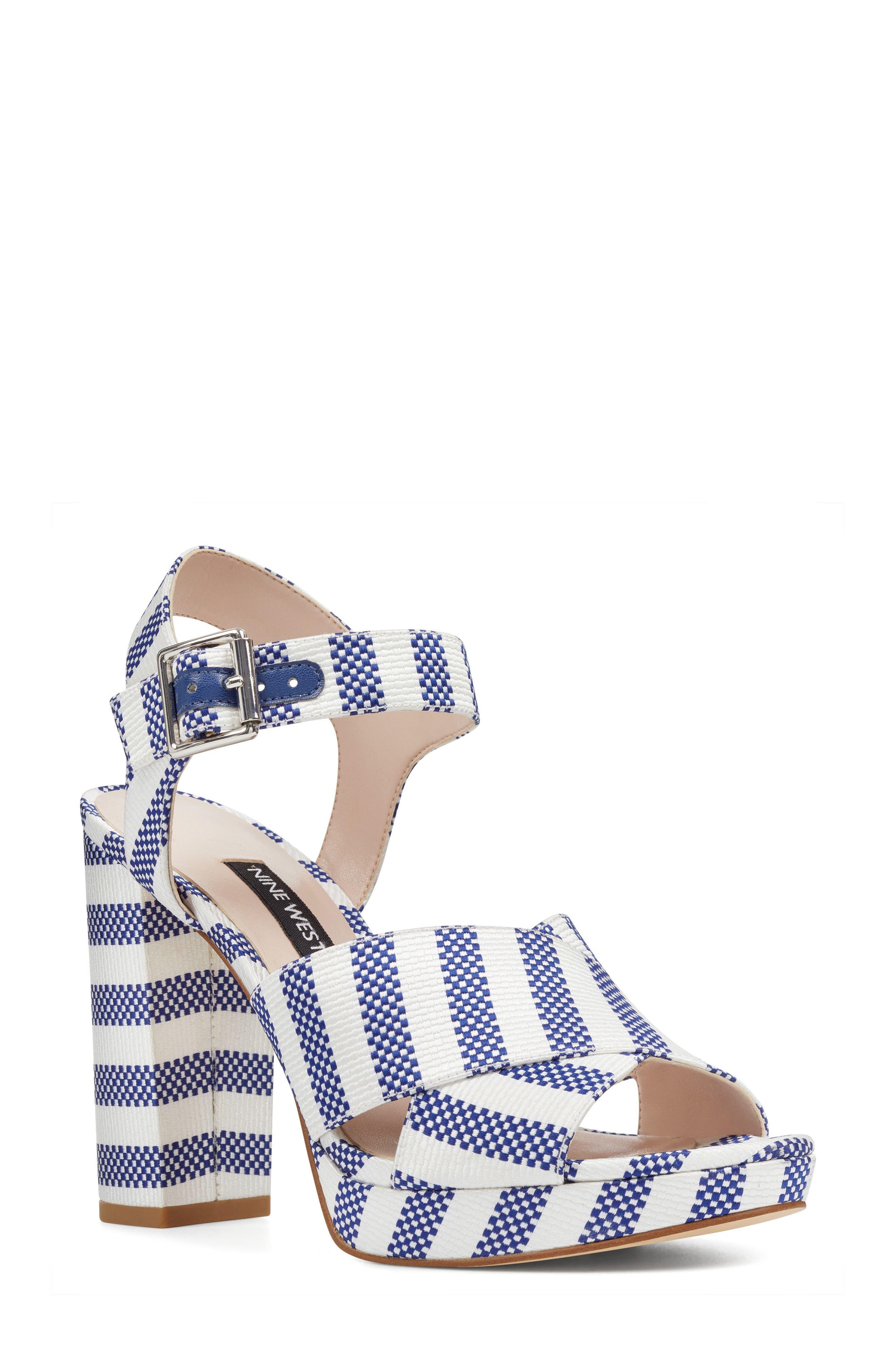 Alternate Image 1 Selected - Nine West Jimar Platform Sandal (Women)