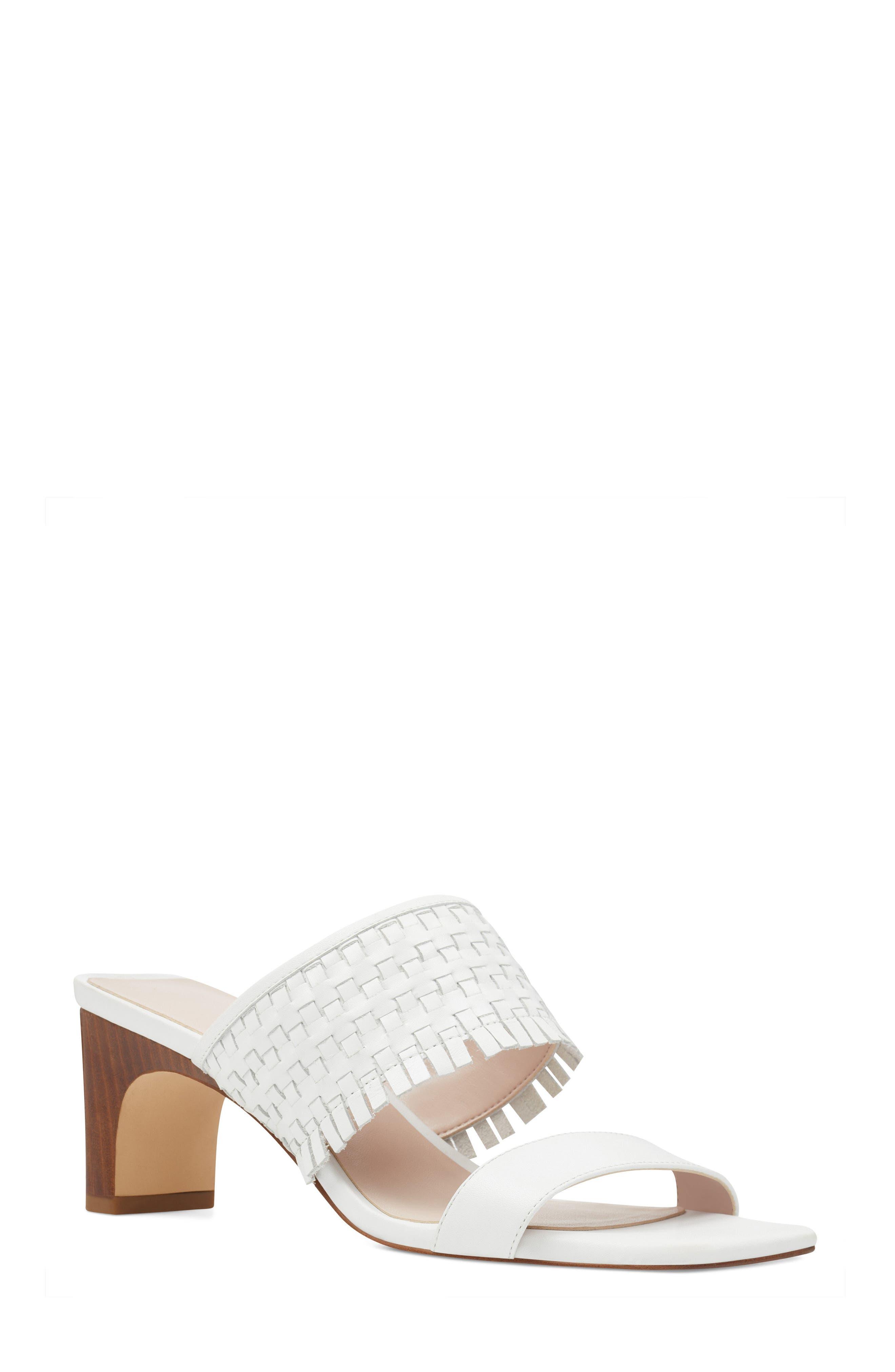 Nirveli Woven Slide Sandal by Nine West