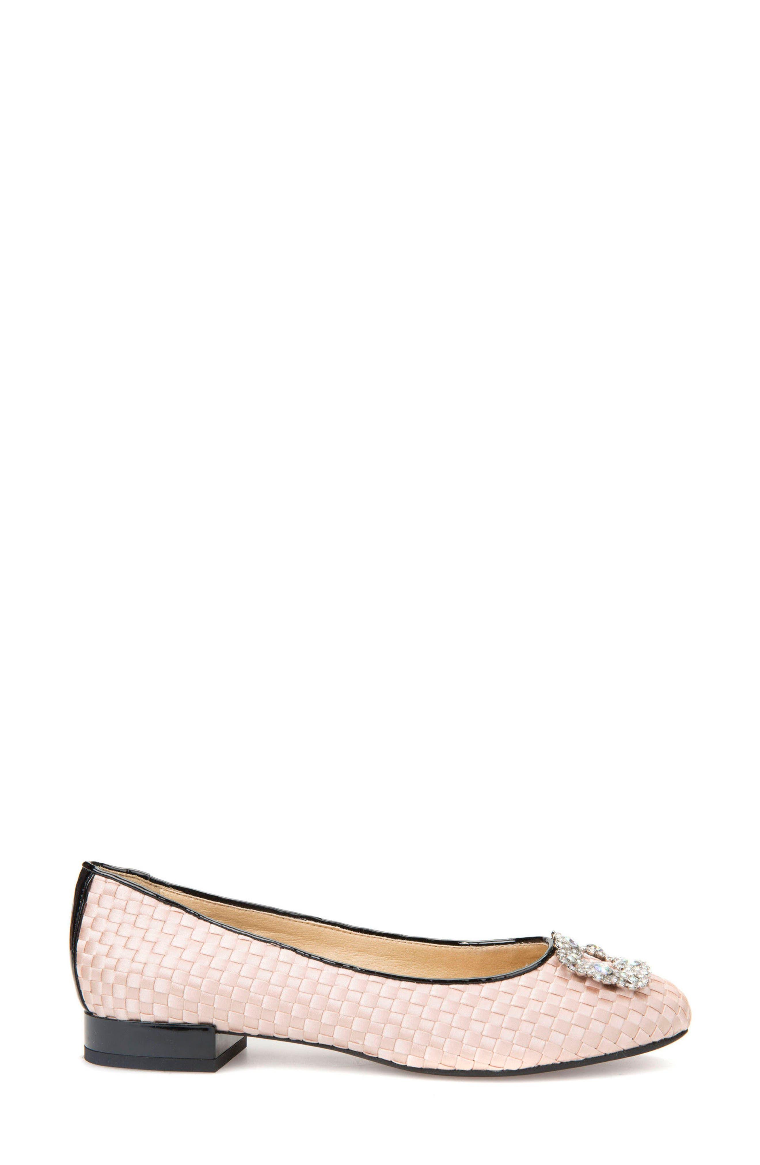 Alternate Image 3  - Geox Wistrey Woven Embellished Slip-On (Women)