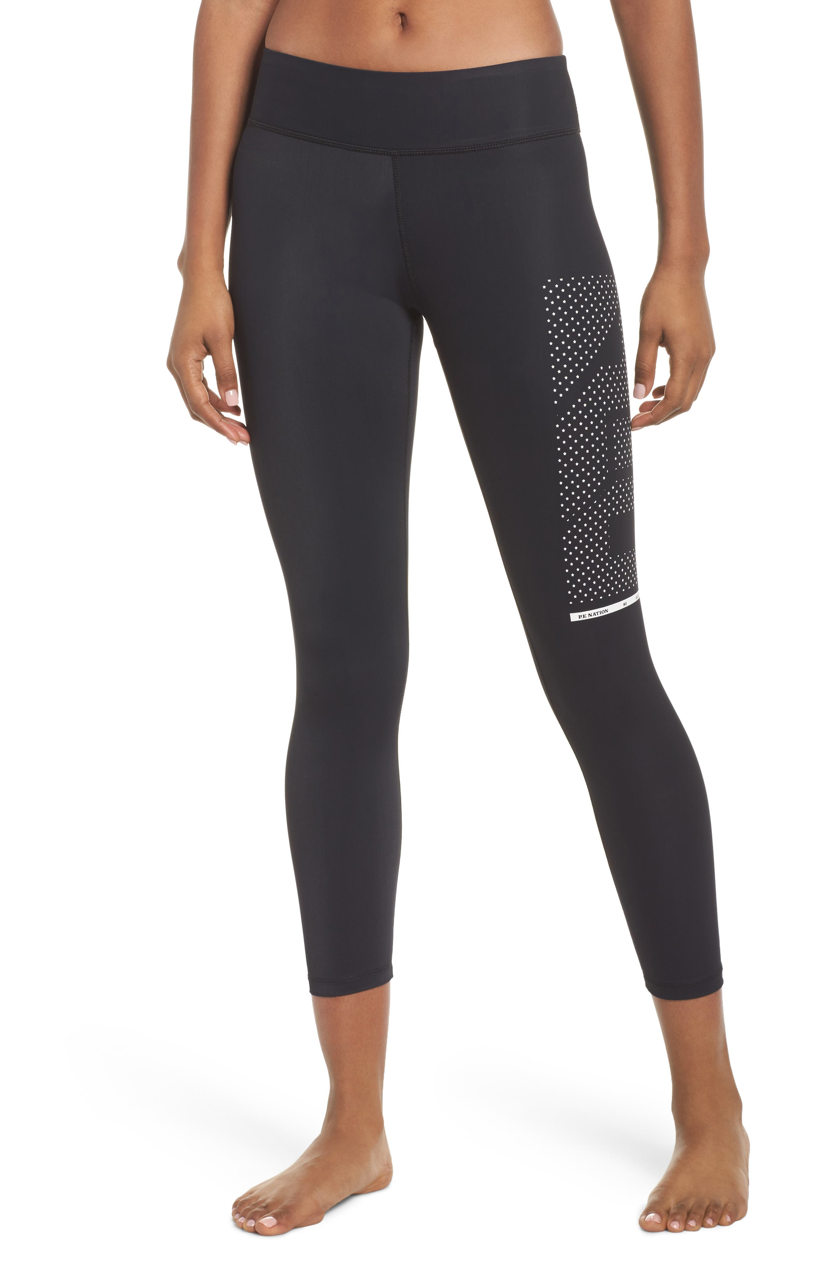 The Contender Leggings,                         Main,                         color, Black