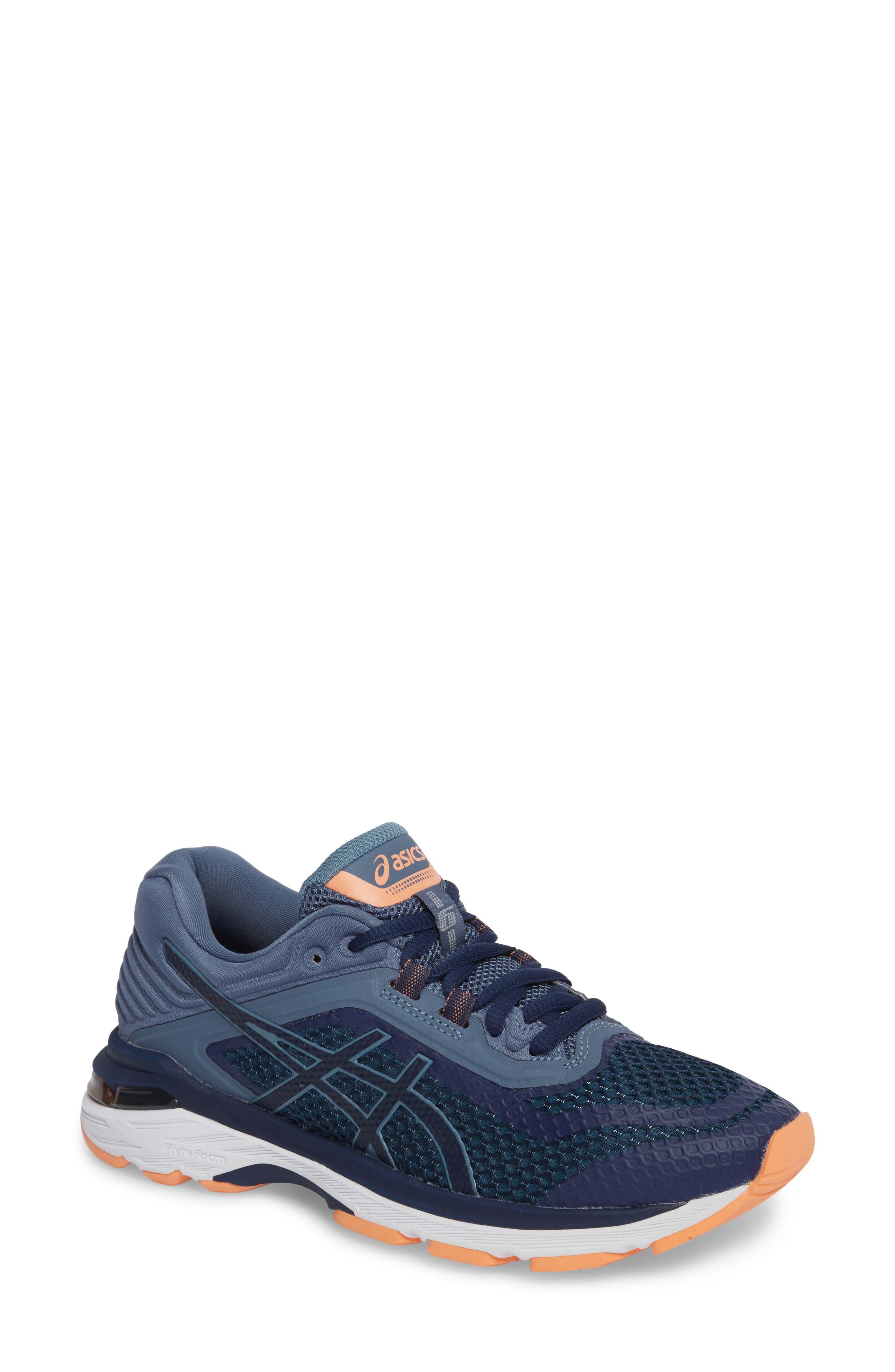 GT-2000 6 Running Shoe,                             Main thumbnail 1, color,                             Indigo Blue/ Smoke Blue