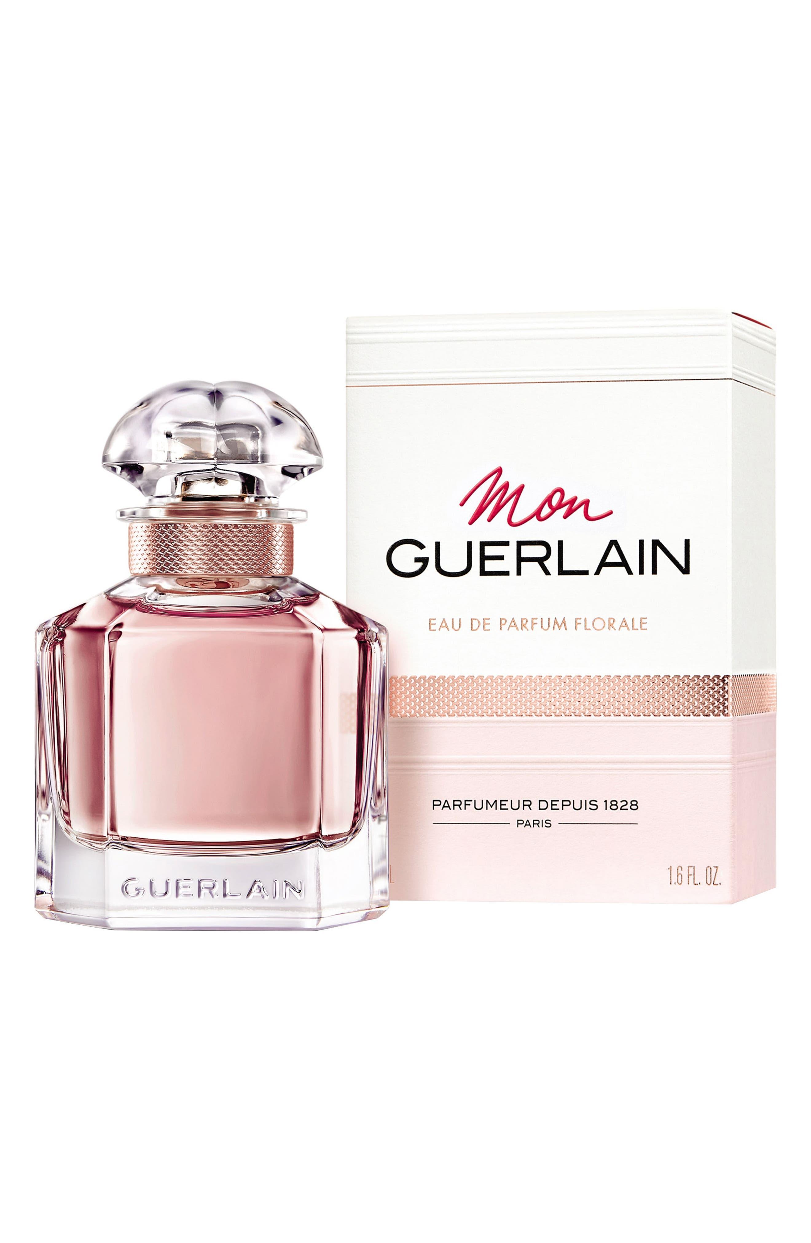 Mon Guerlain Eau de Parfum Florale,                             Alternate thumbnail 3, color,                             No Color