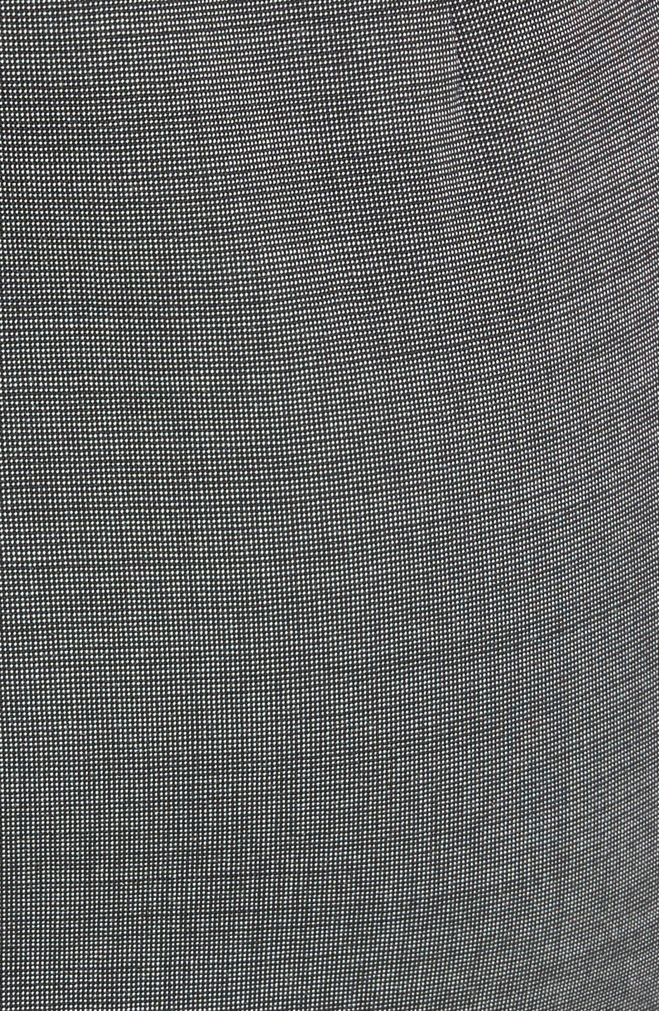 One-Shoulder Sheath Dress,                             Alternate thumbnail 5, color,                             Grey