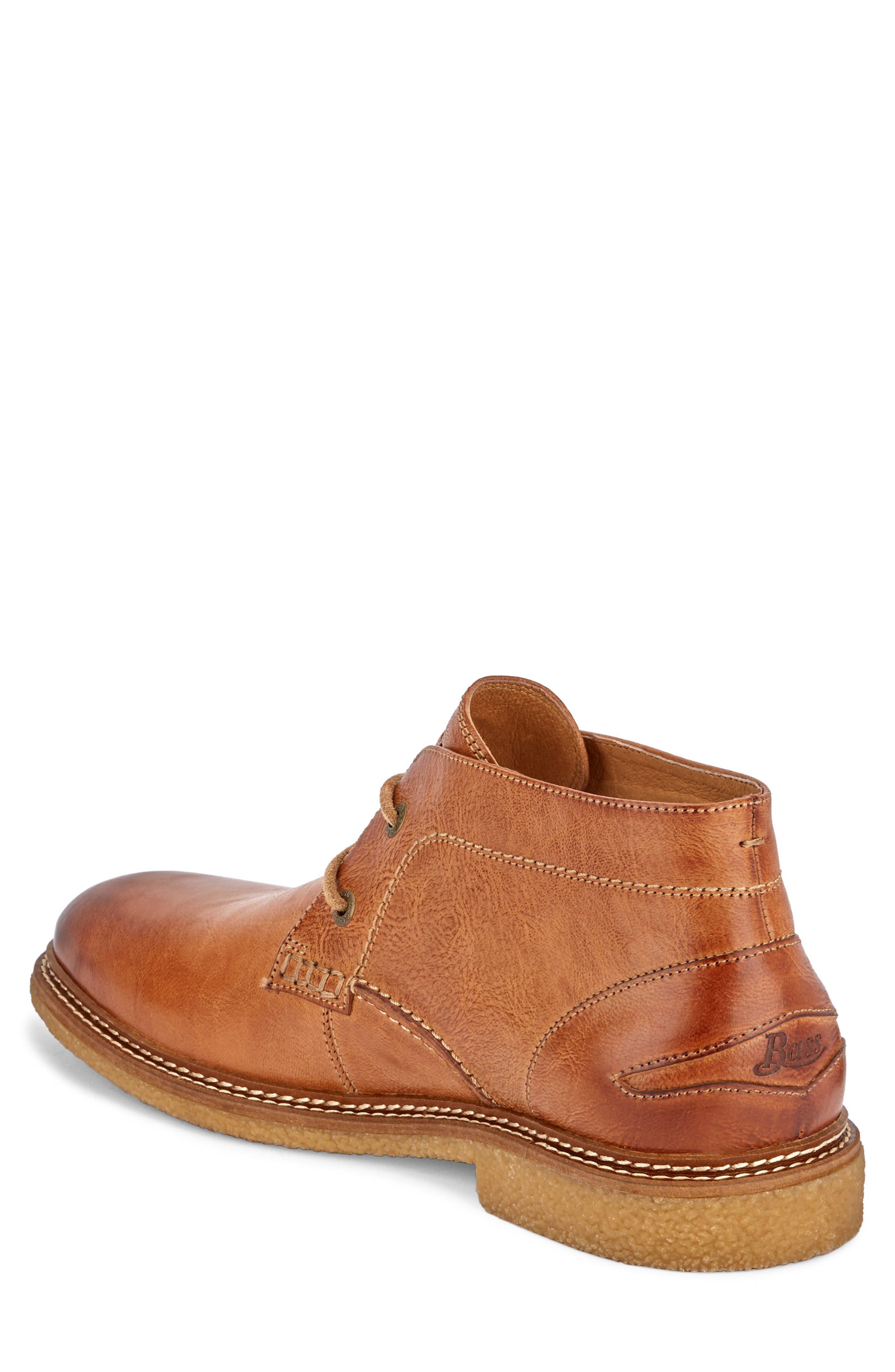 'Bennett' Chukka Boot,                             Alternate thumbnail 2, color,                             Tan Leather