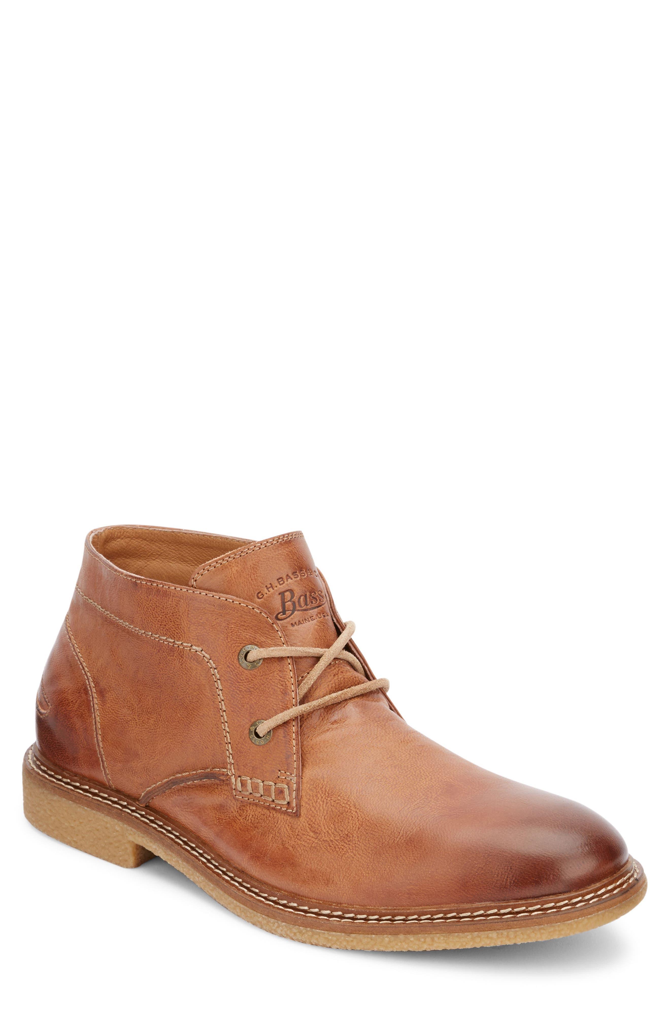 'Bennett' Chukka Boot,                             Main thumbnail 1, color,                             Tan Leather