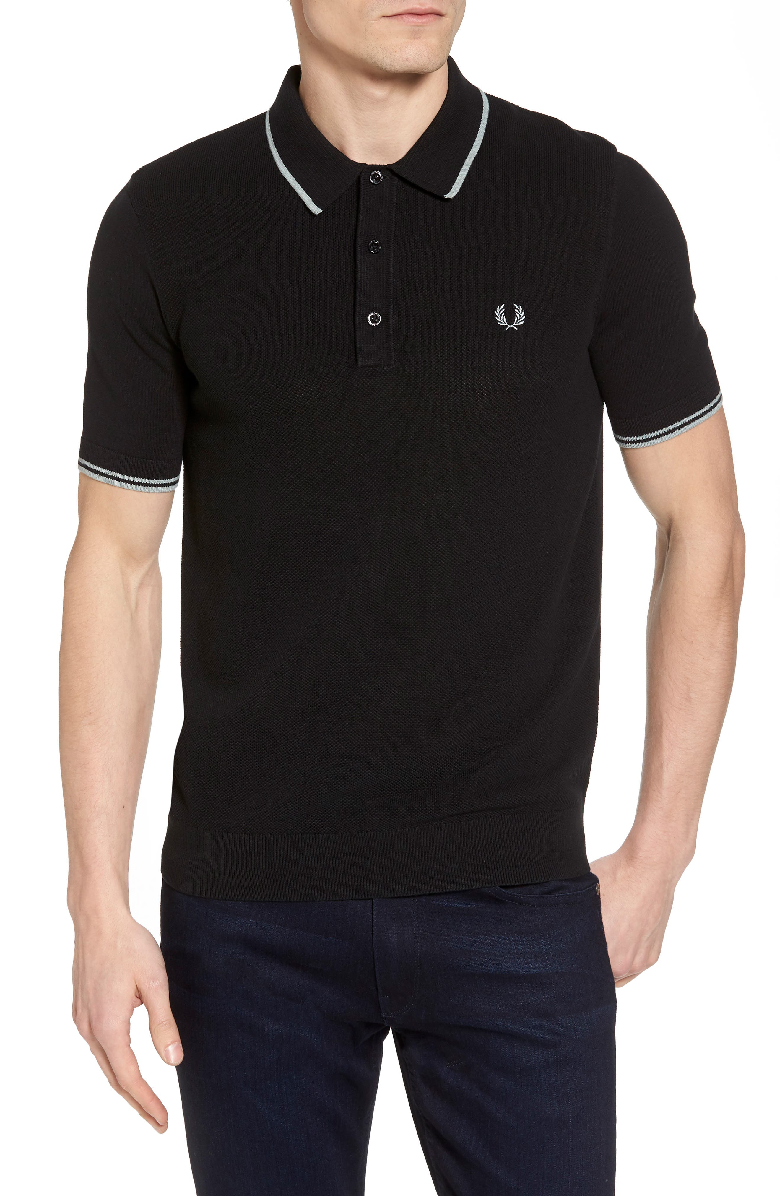 Fred Perry Tipped Piqué Polo